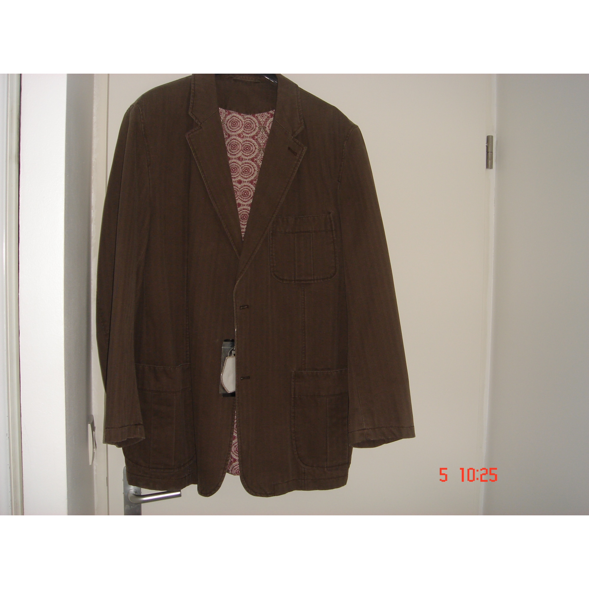 Veste ANGELO LITRICO Marron
