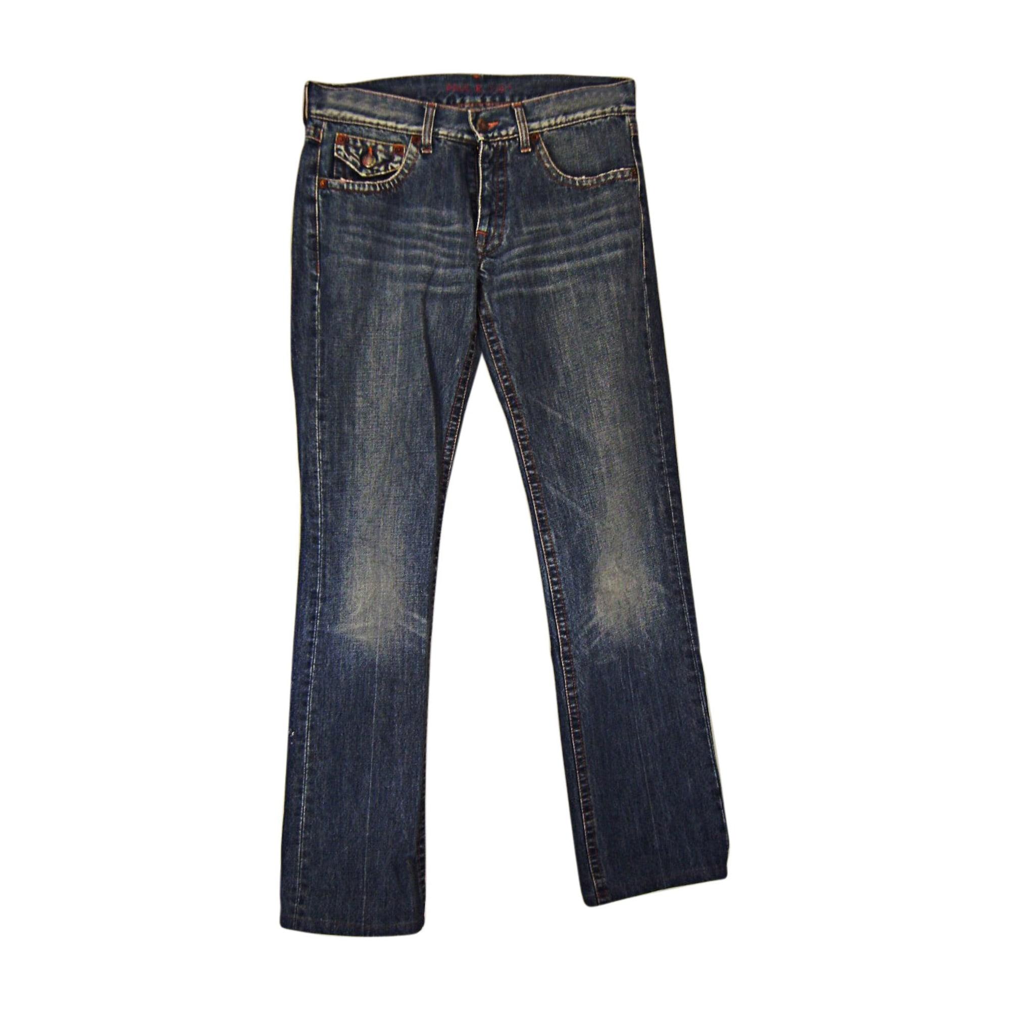 Jeans droit PAUL & JOE Bleu, bleu marine, bleu turquoise