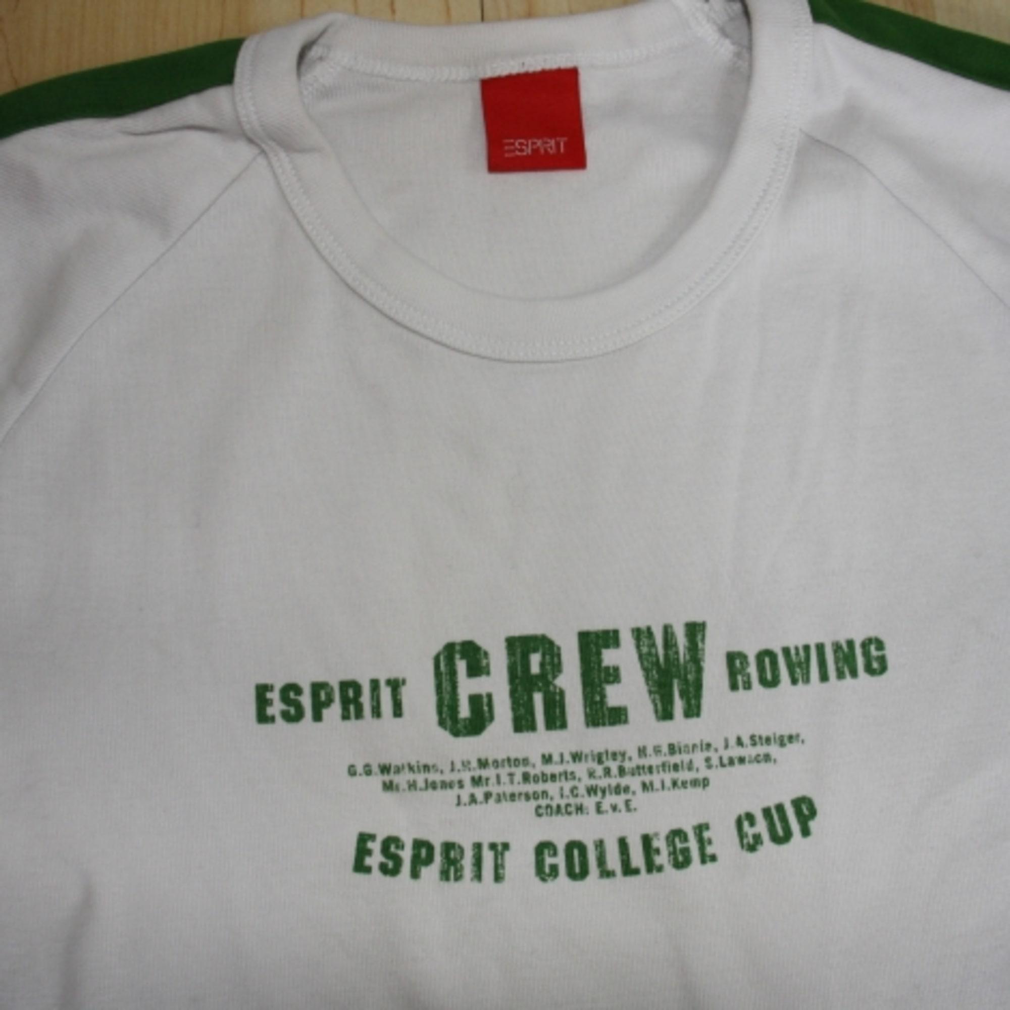 T-shirt ESPRIT White, off-white, ecru