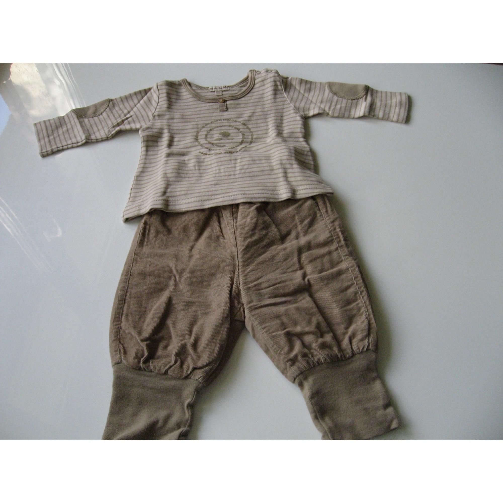 Ensemble & Combinaison pantalon GRAIN DE BLÉ Beige, camel