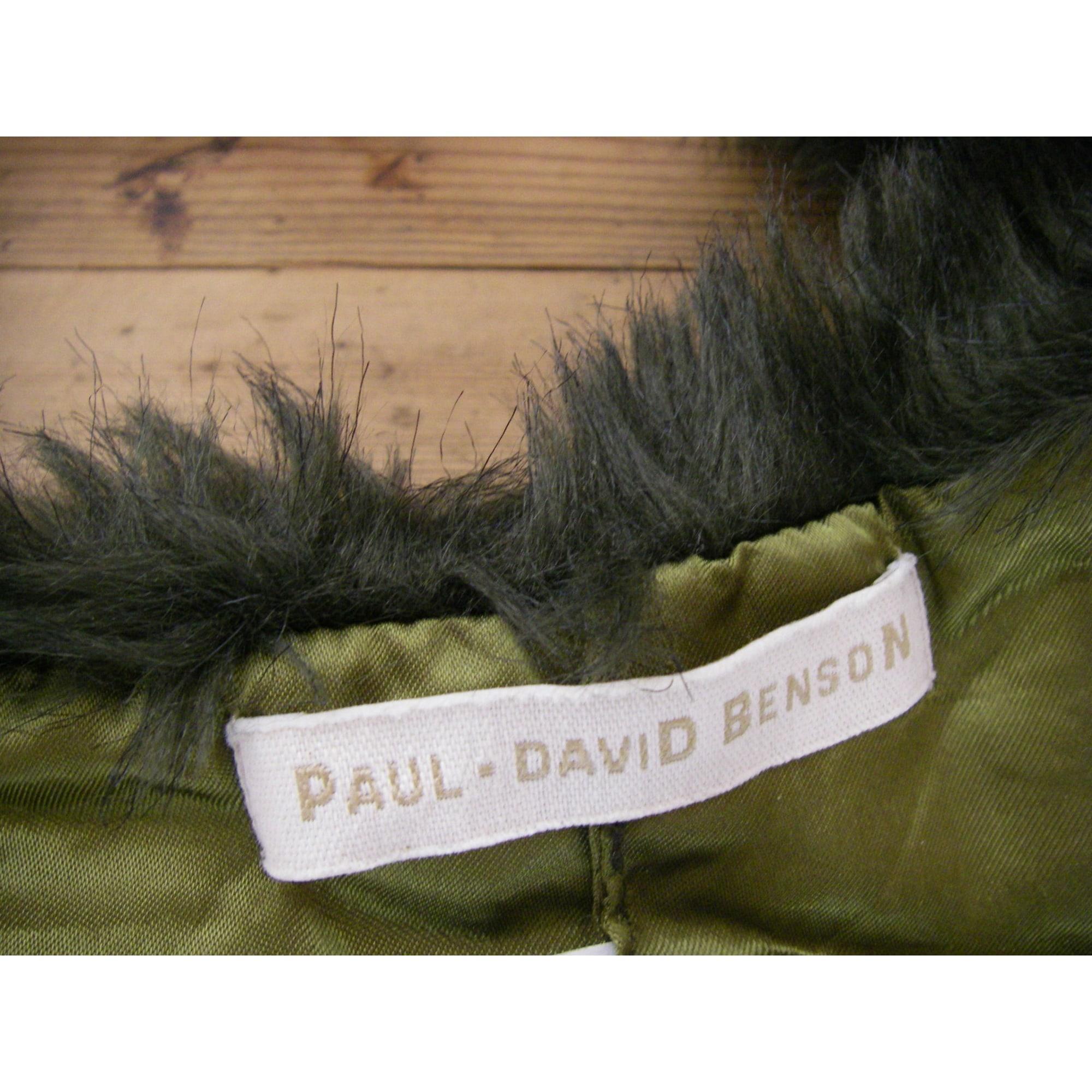 Echarpe PAUL DAVID BENSON Vert