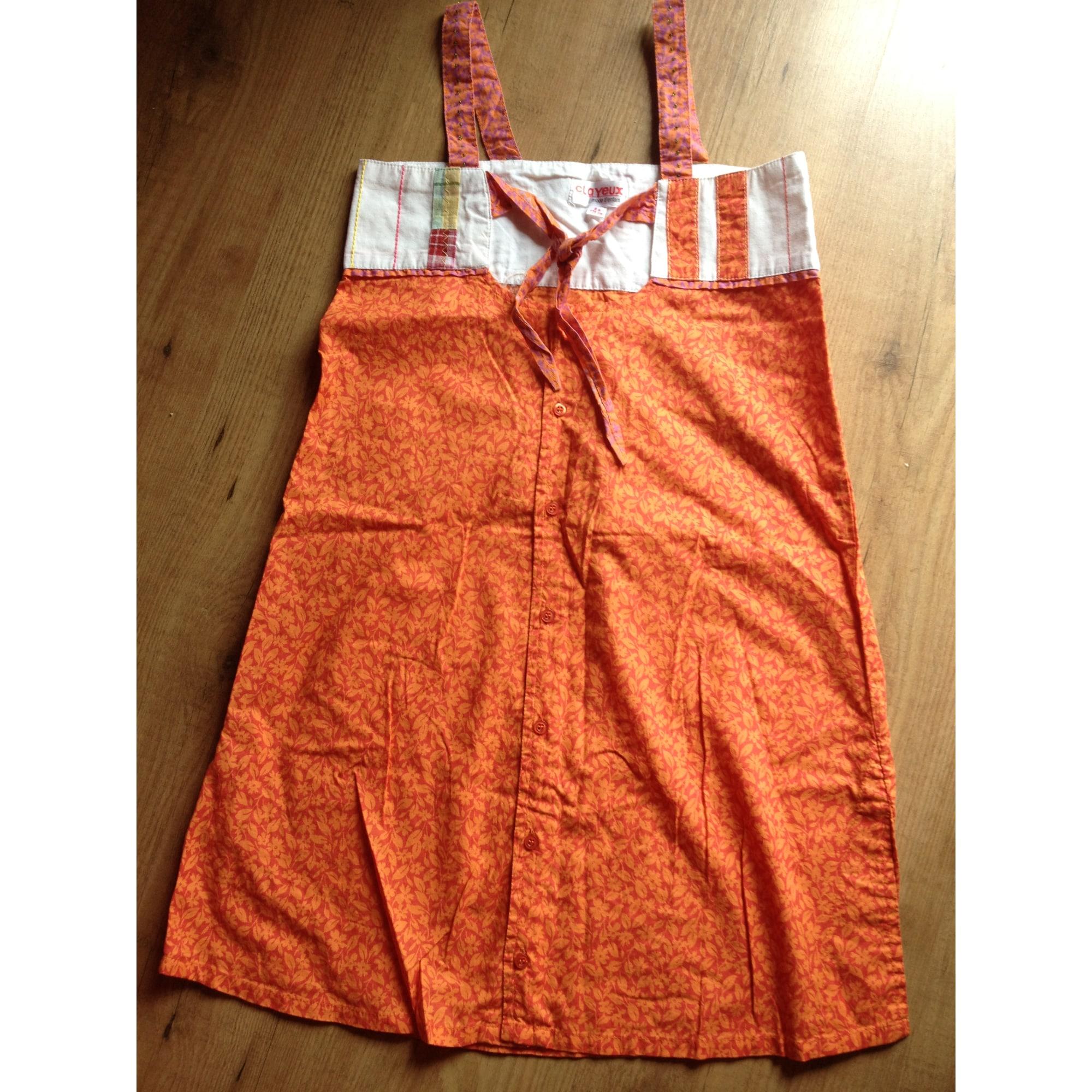 Robe CLAYEUX Orange