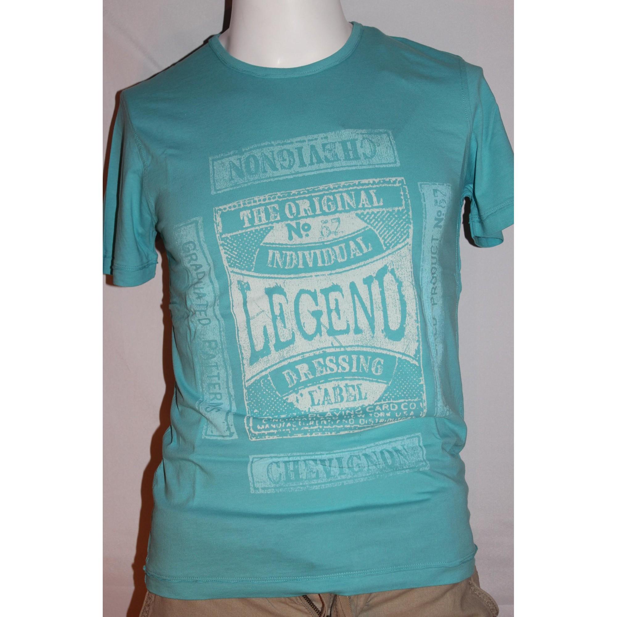 T-shirt CHEVIGNON Blue, navy, turquoise
