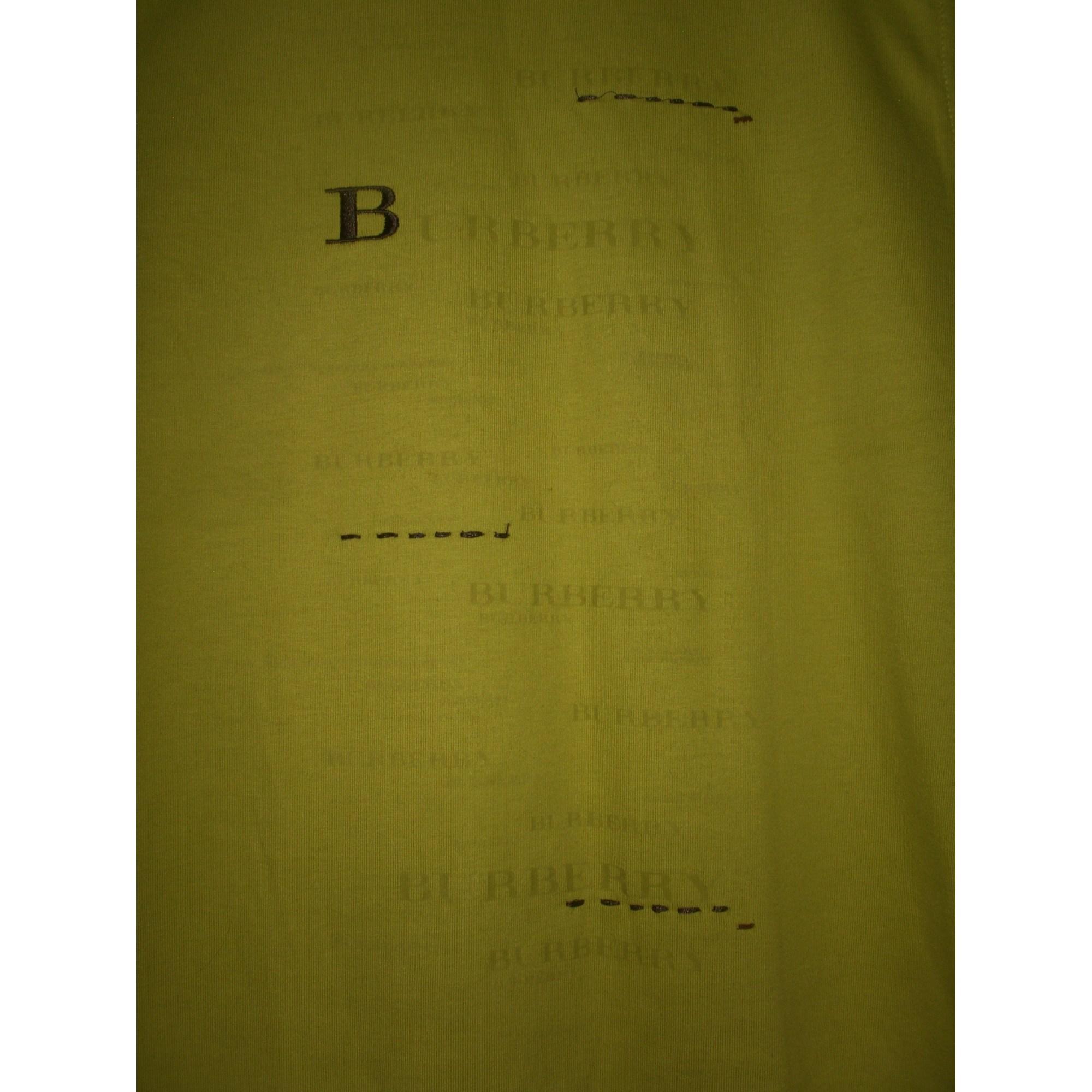 Tee-shirt BURBERRY Vert