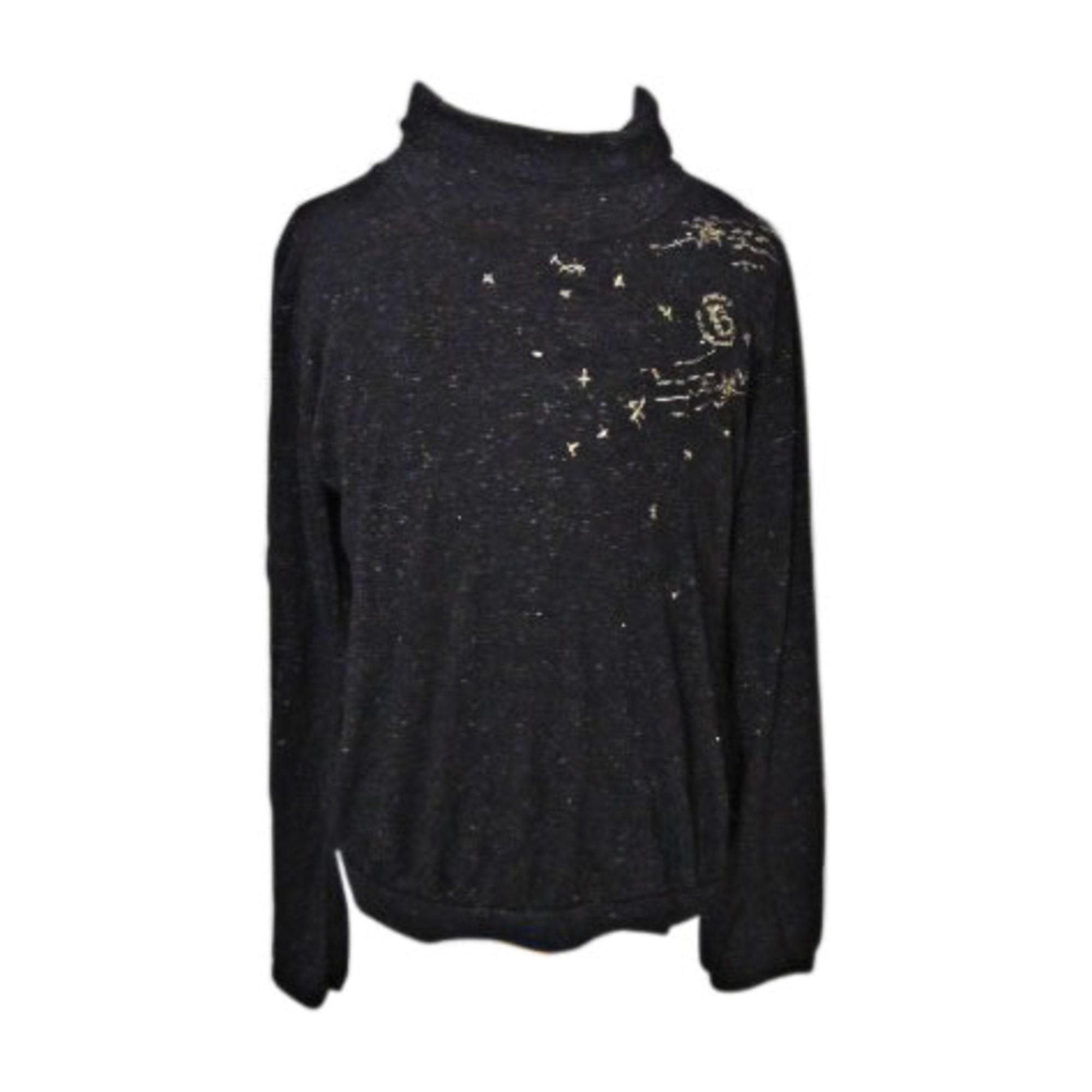 Top, Tee-shirt JEAN BOURGET Noir