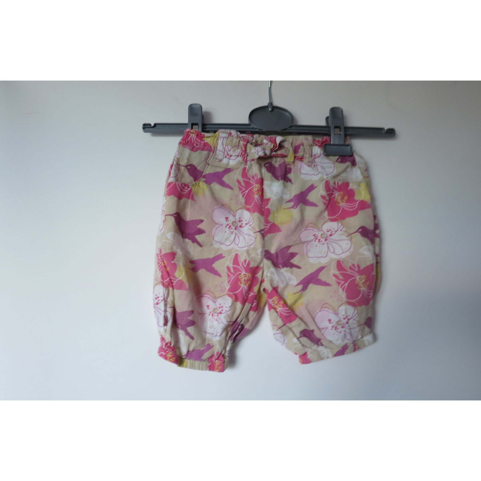 Bermuda Shorts OBAIBI Pink, fuchsia, light pink