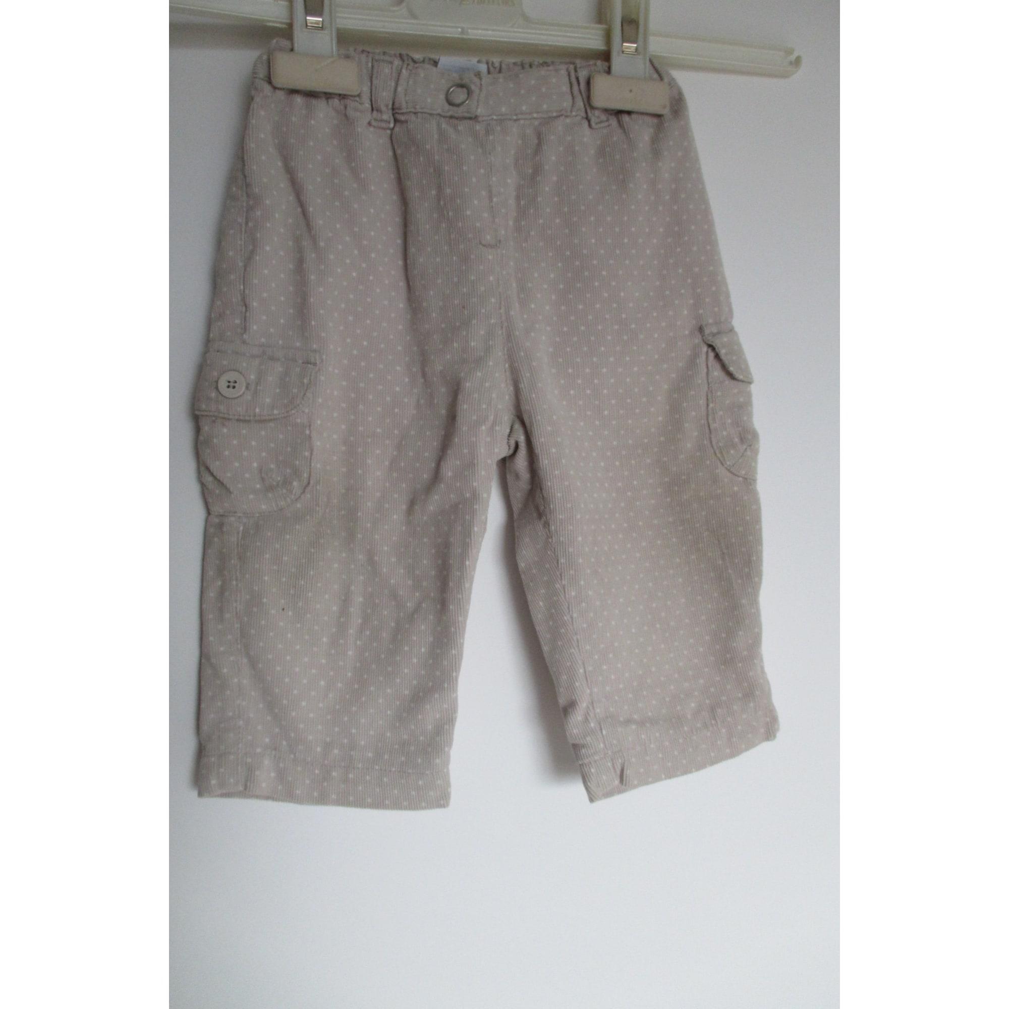 Pantalon PETIT BATEAU Beige, camel