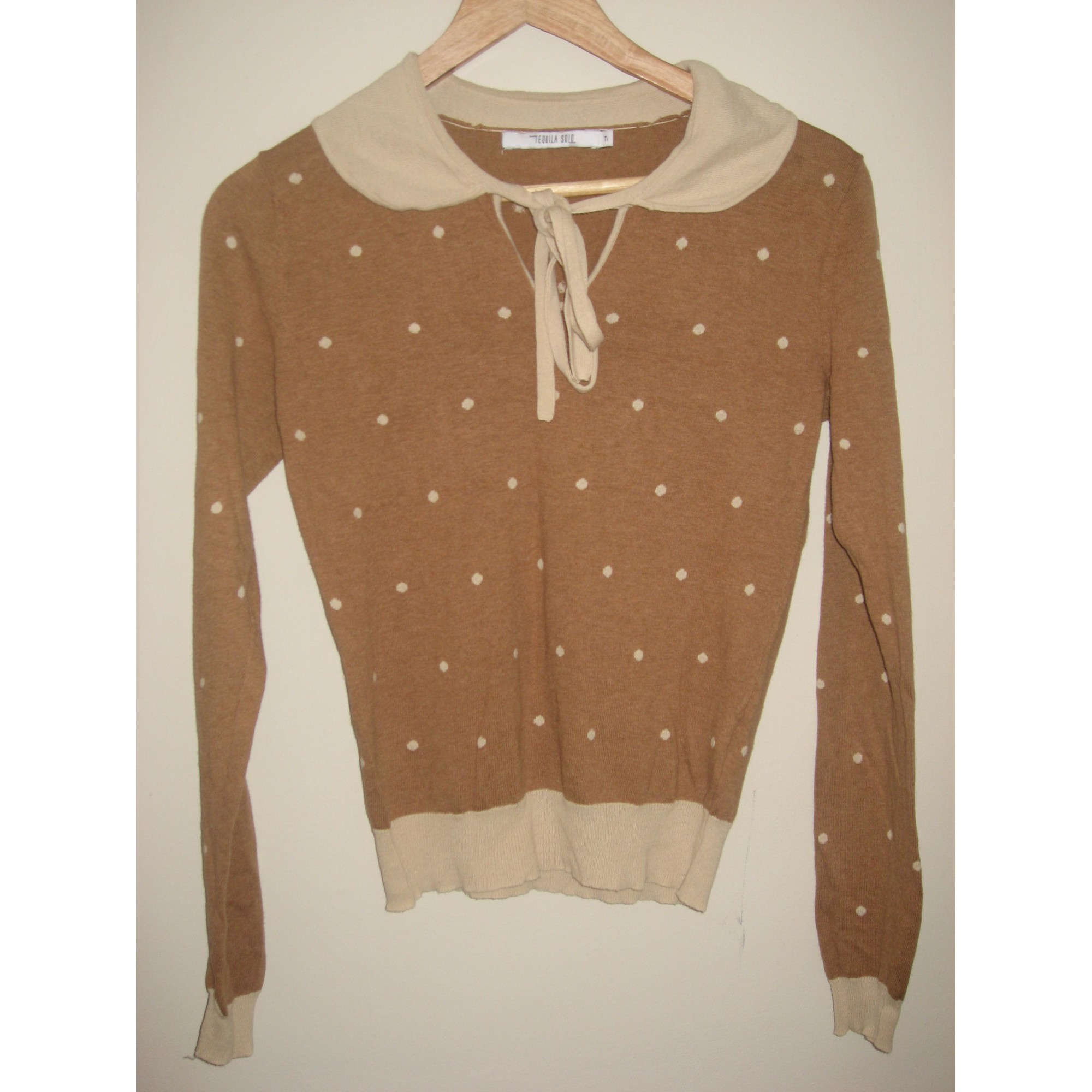 Pull TEQUILA SOLO Beige, camel