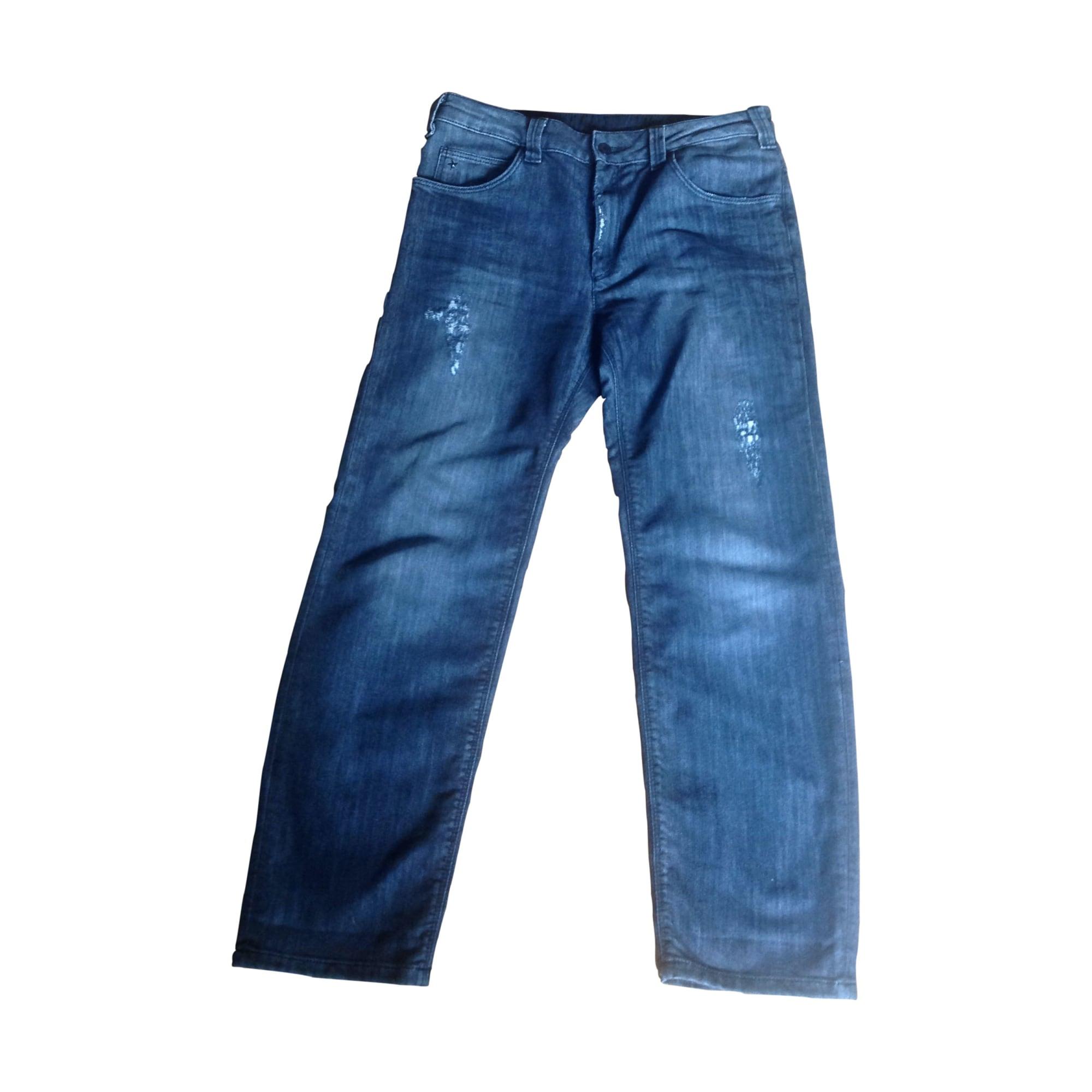Jeans large, boyfriend SANDRO Gris, anthracite