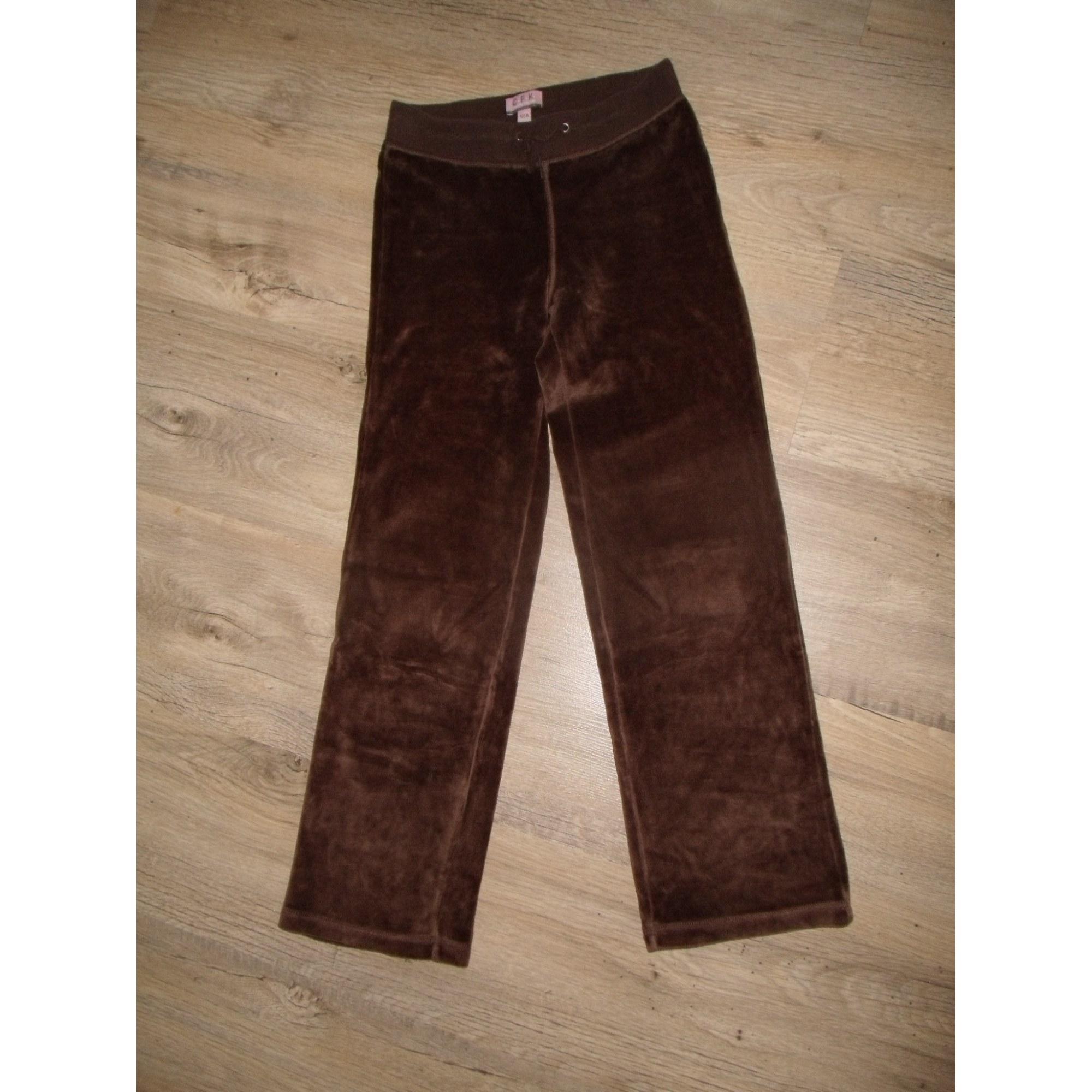 Pantalon CFK Marron