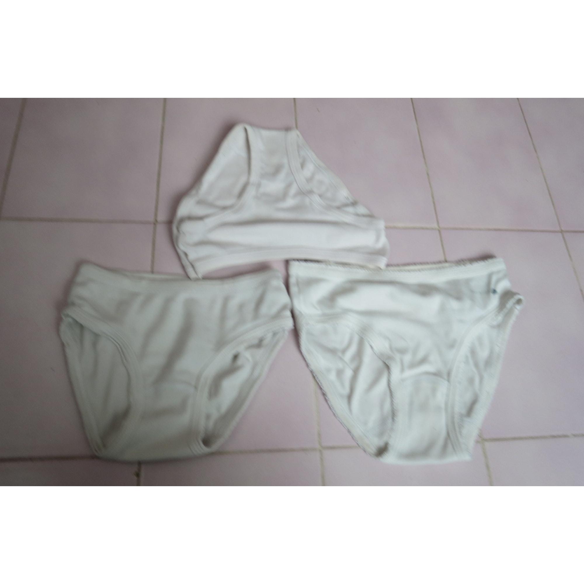 Culotte PETIT BATEAU Blanc, blanc cassé, écru