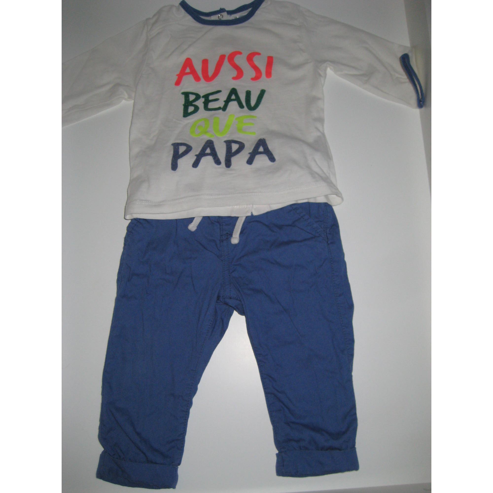 Ensemble & Combinaison pantalon KITCHOUN Bleu, bleu marine, bleu turquoise