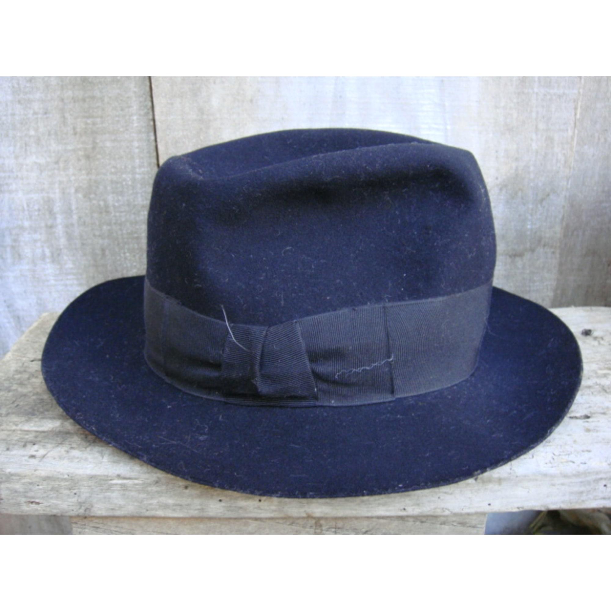 Chapeau ROBIN COULONGE (VINTAGE) Noir