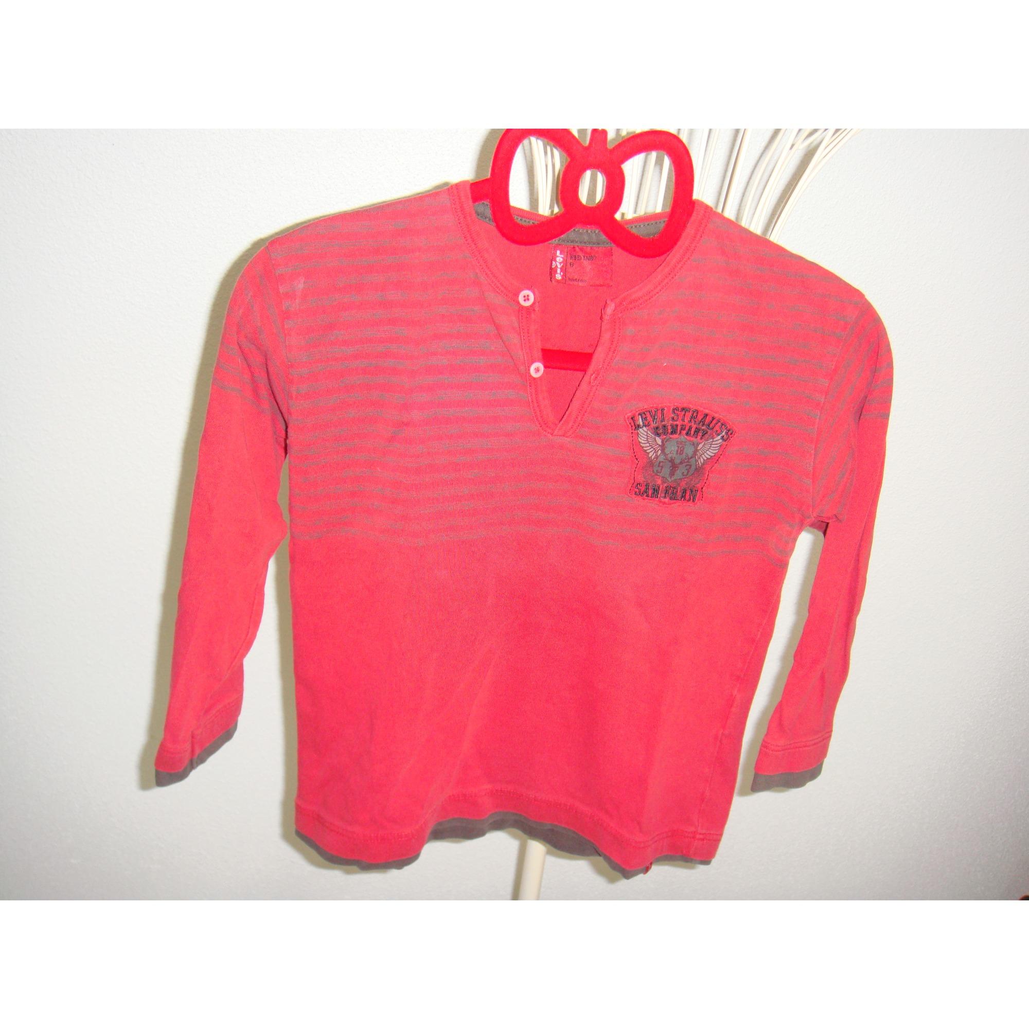 Tee-shirt LEVI'S Rouge, bordeaux