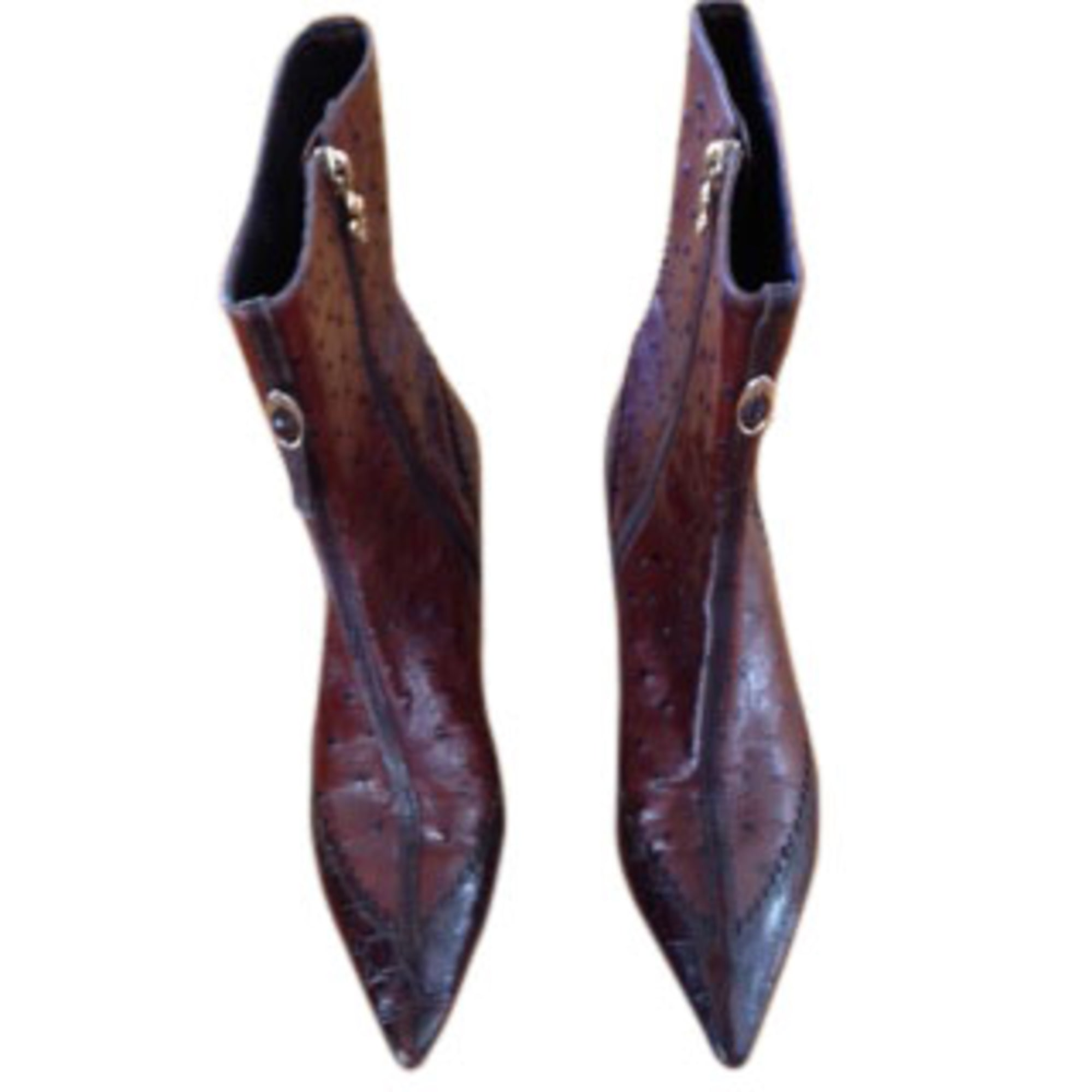 Bottines & low boots à talons PATRICK COX Marron
