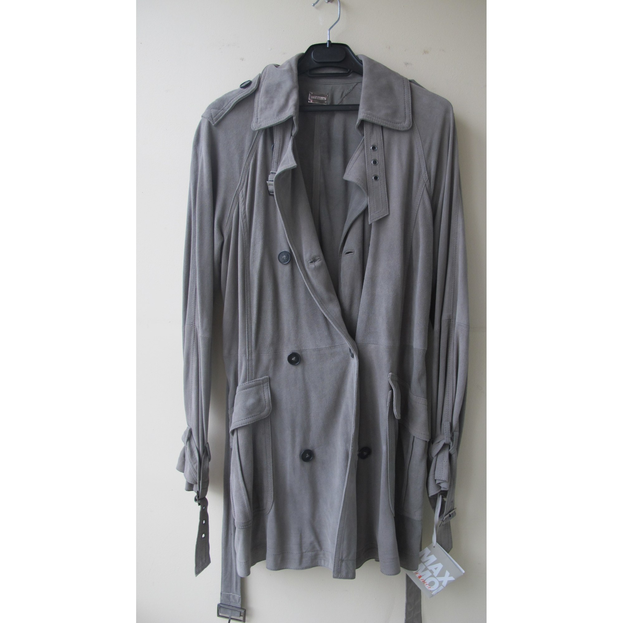 Imperméable, trench MAX & MOI Gris, anthracite