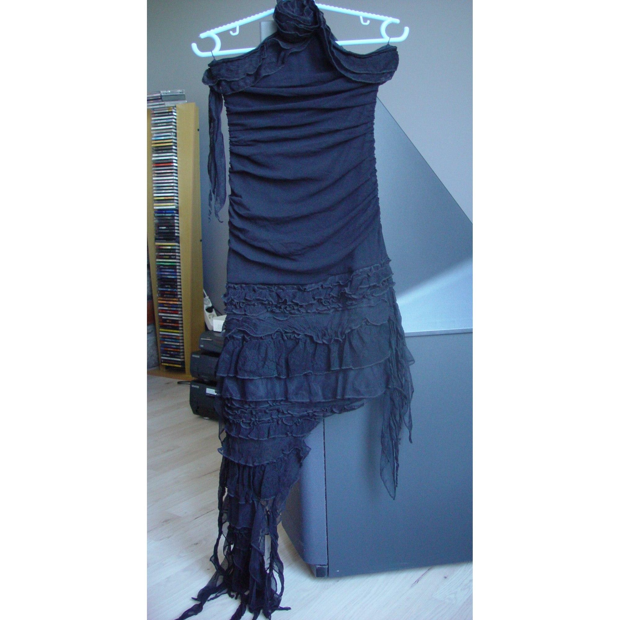Robe courte BACKGROUND Noir