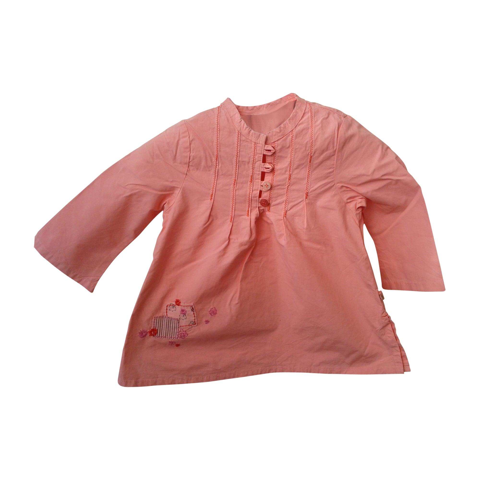 Top, tee shirt JEAN BOURGET Rose, fuschia, vieux rose