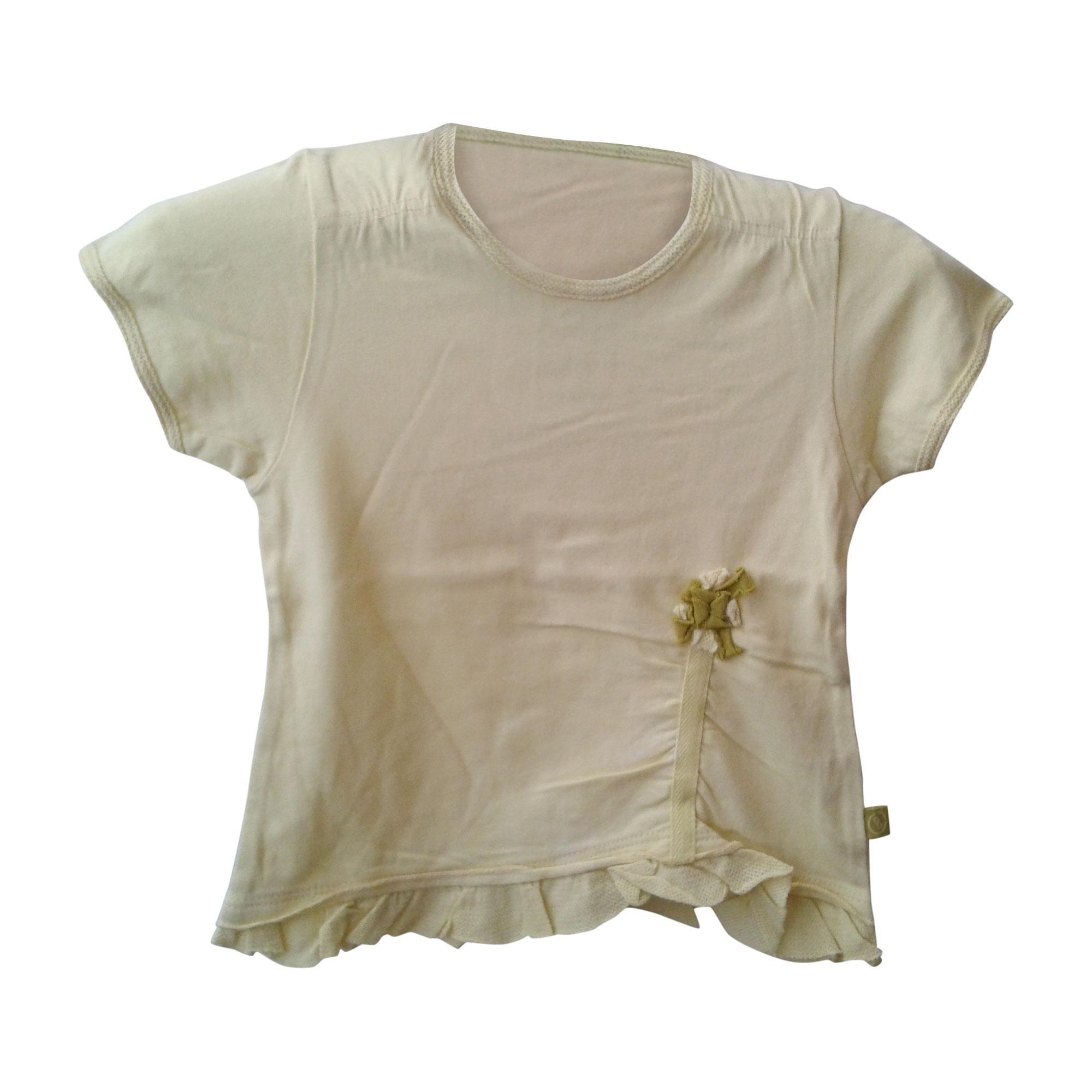 Top, Tee-shirt JEAN BOURGET Jaune