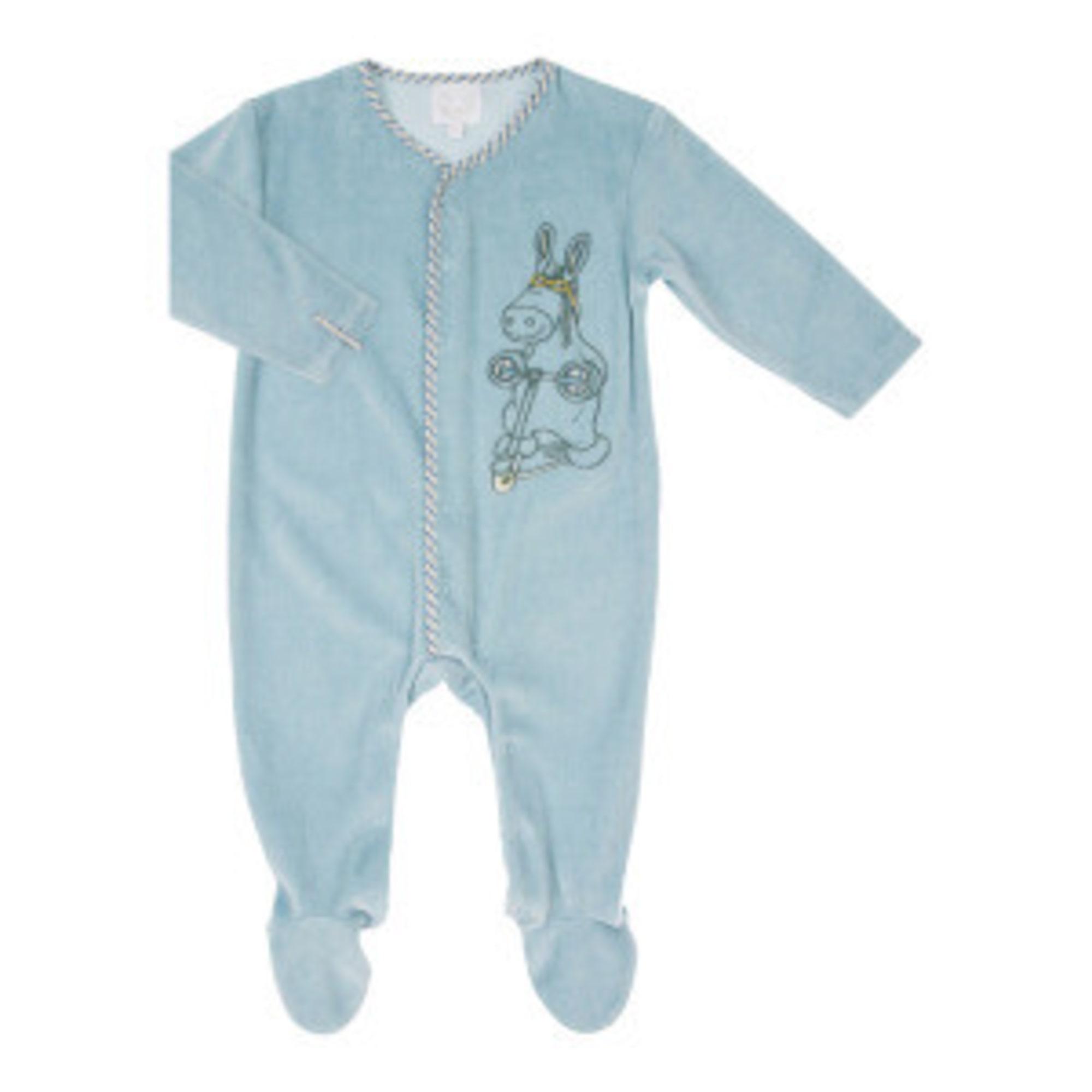Pyjama NOUKIES Bleu, bleu marine, bleu turquoise