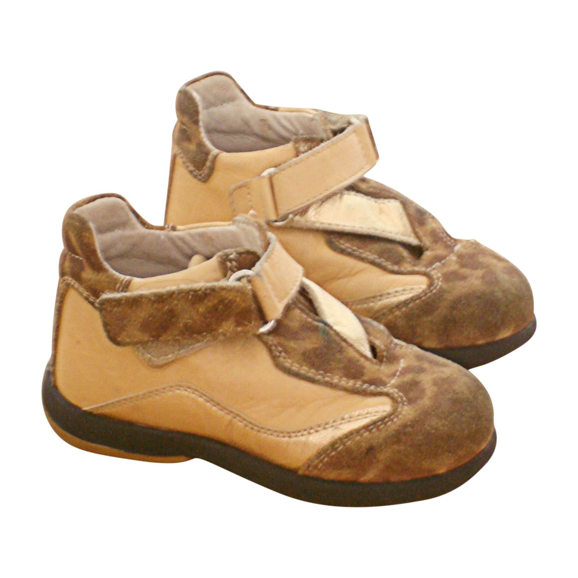 Ankle Boots MARQUE INCONNUE Golden, bronze, copper