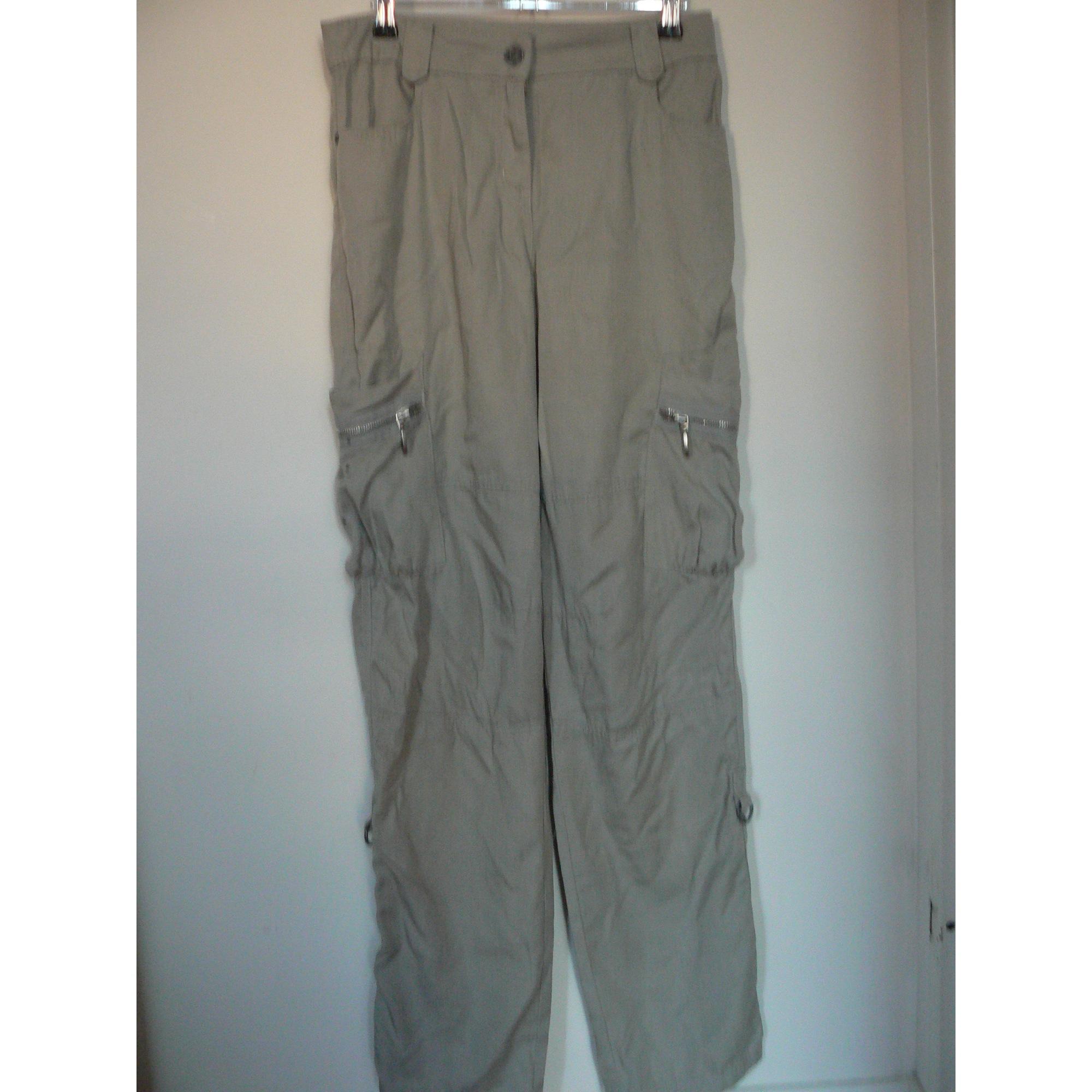 Pantalon droit COP-COPINE Beige, camel