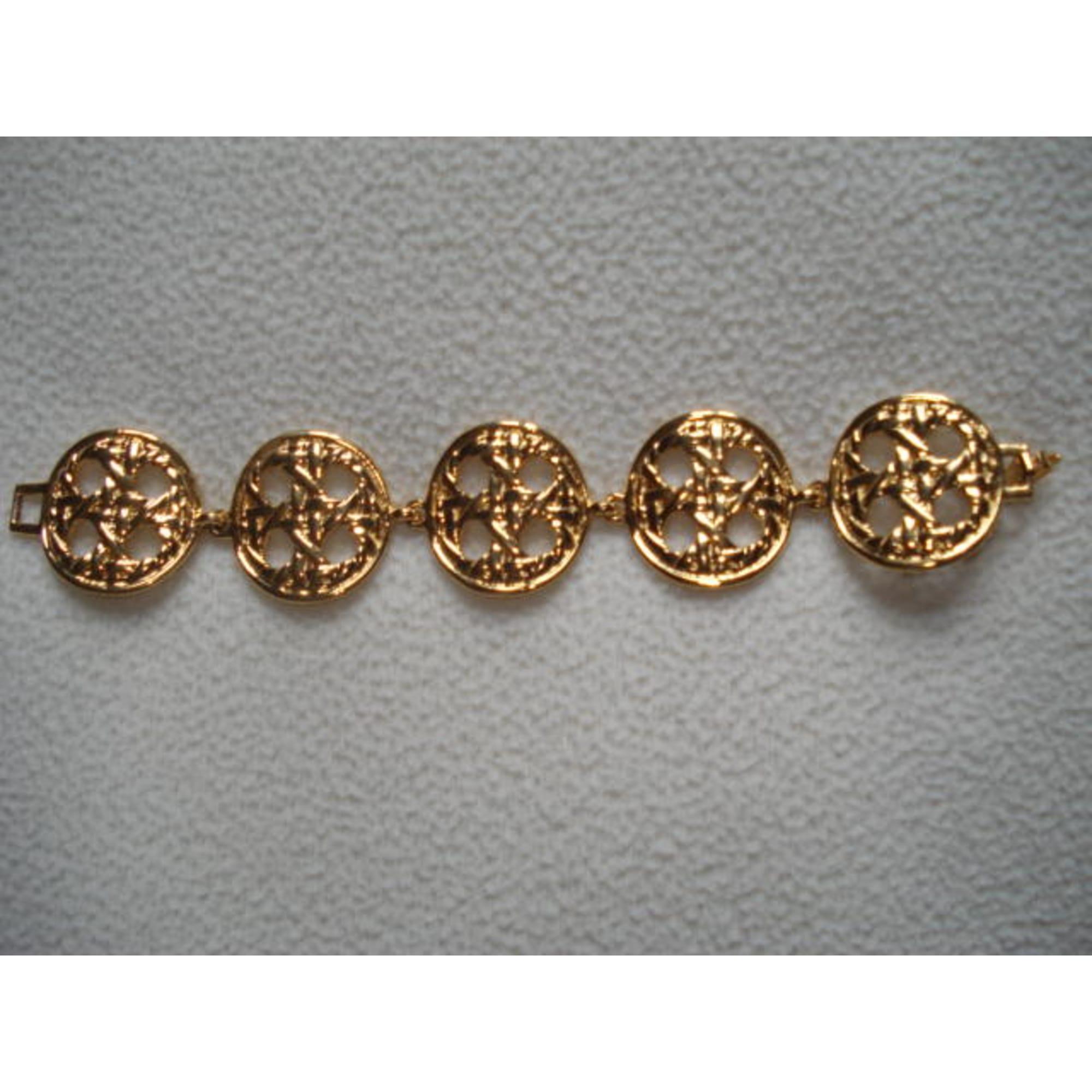Bracelet TED LAPIDUS Doré, bronze, cuivre