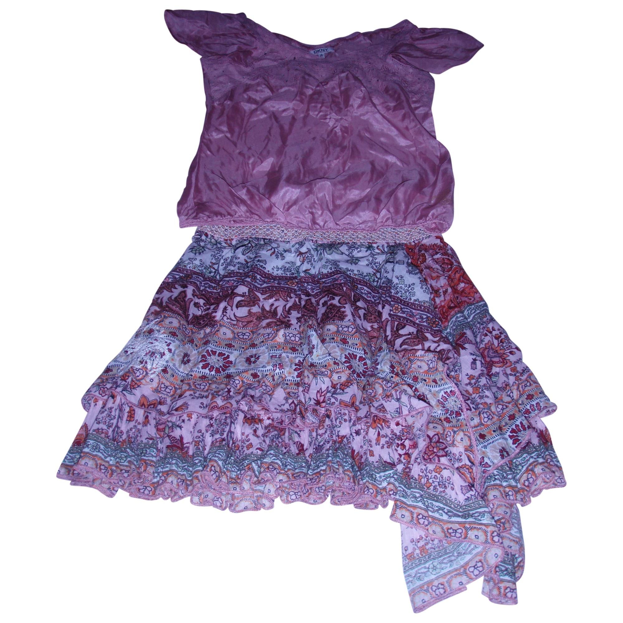Anzug, Set für Kinder, kurz DKNY Pink,  altrosa