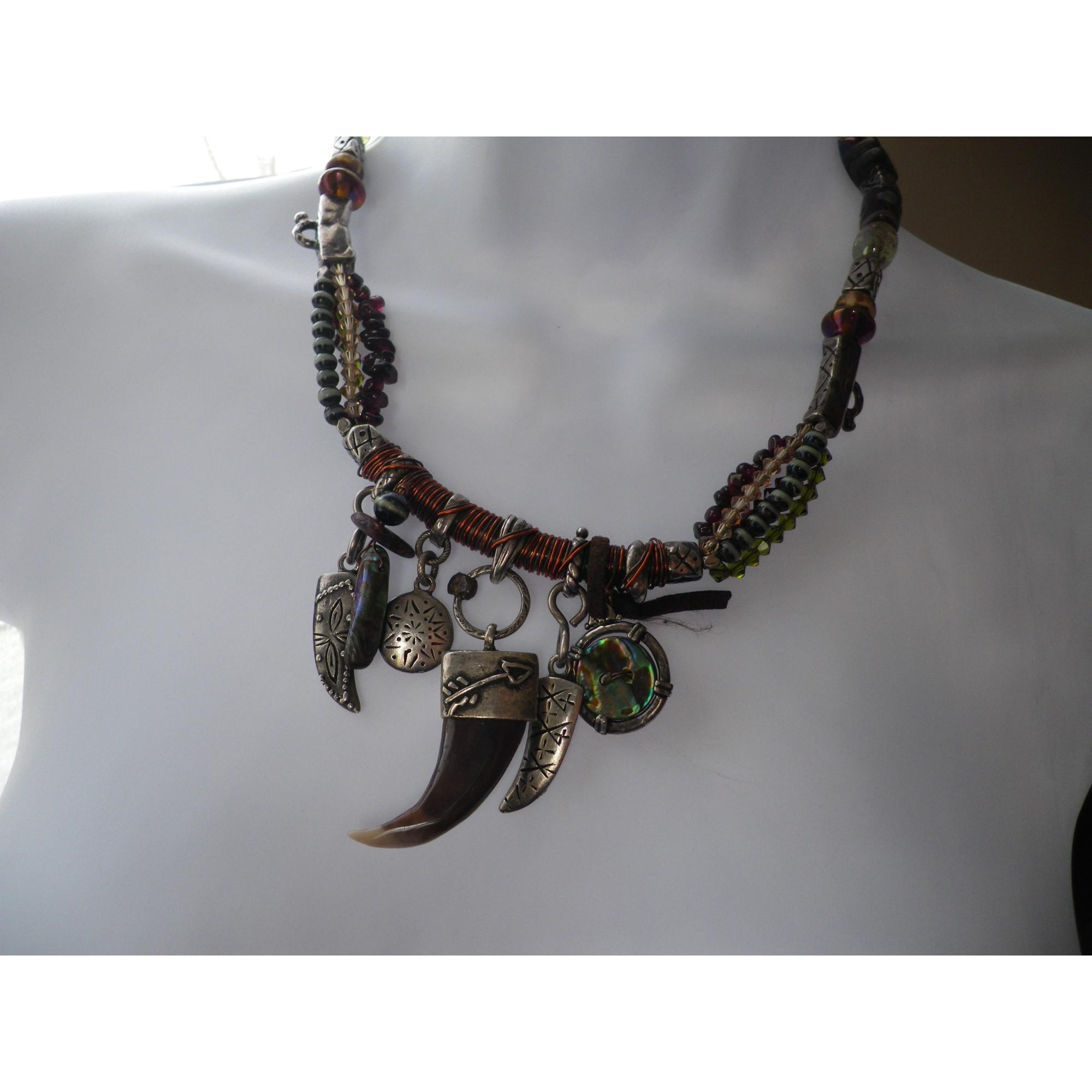 Pendentif, collier pendentif REMINISCENCE Multicouleur