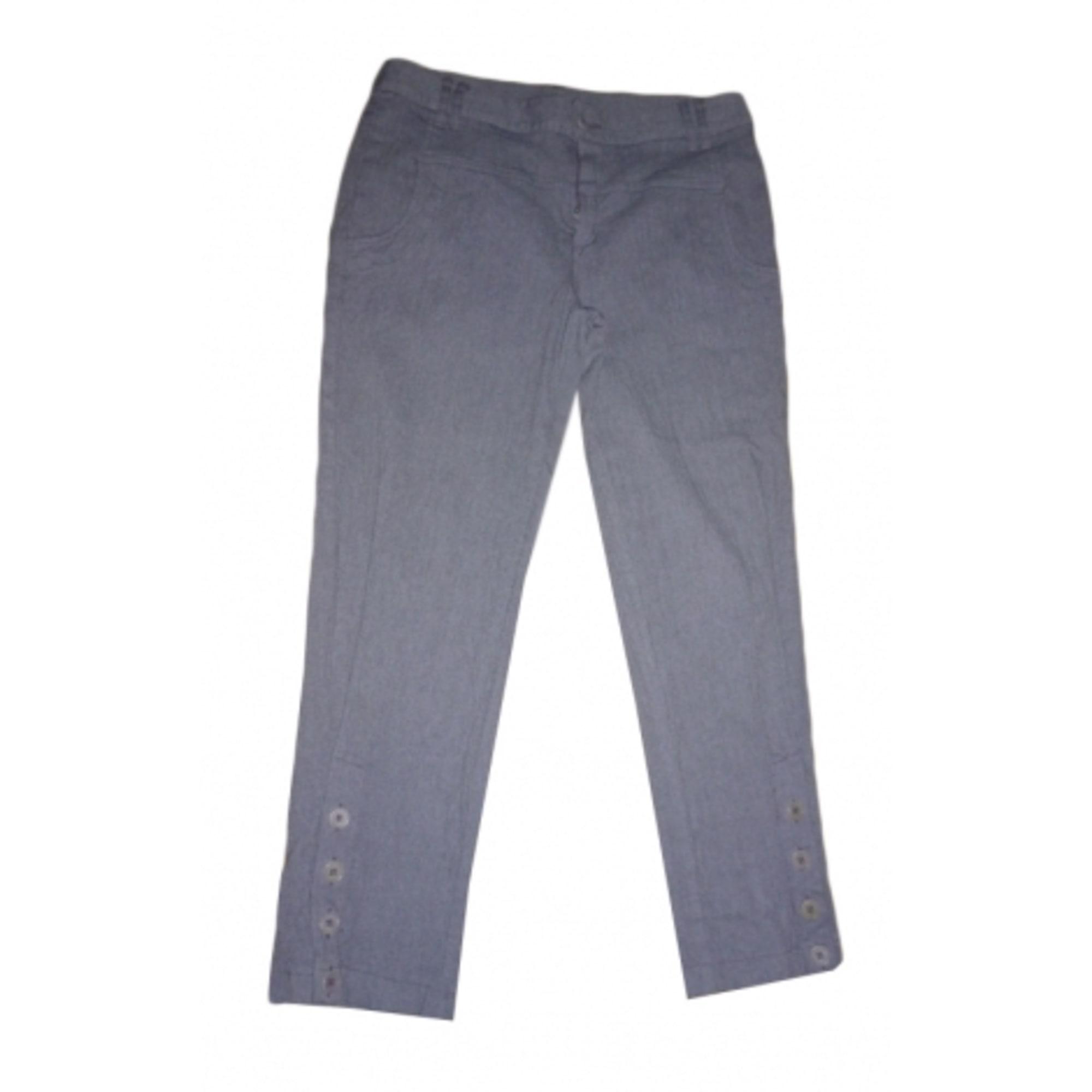 Pantalon droit SUNDAY SAINT-TROPEZ Violet, mauve, lavande
