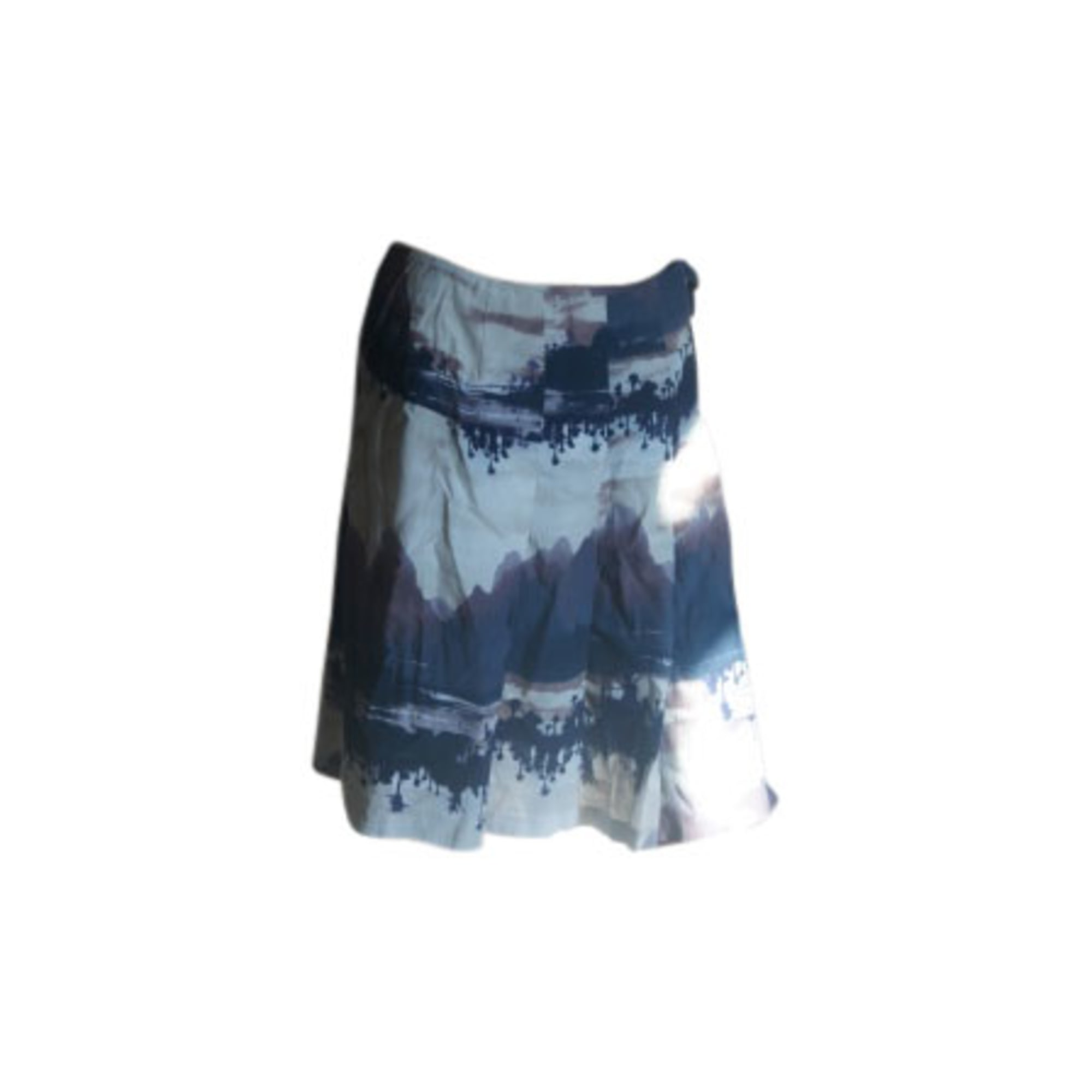 Jupe mi-longue KENZO Bleu, bleu marine, bleu turquoise