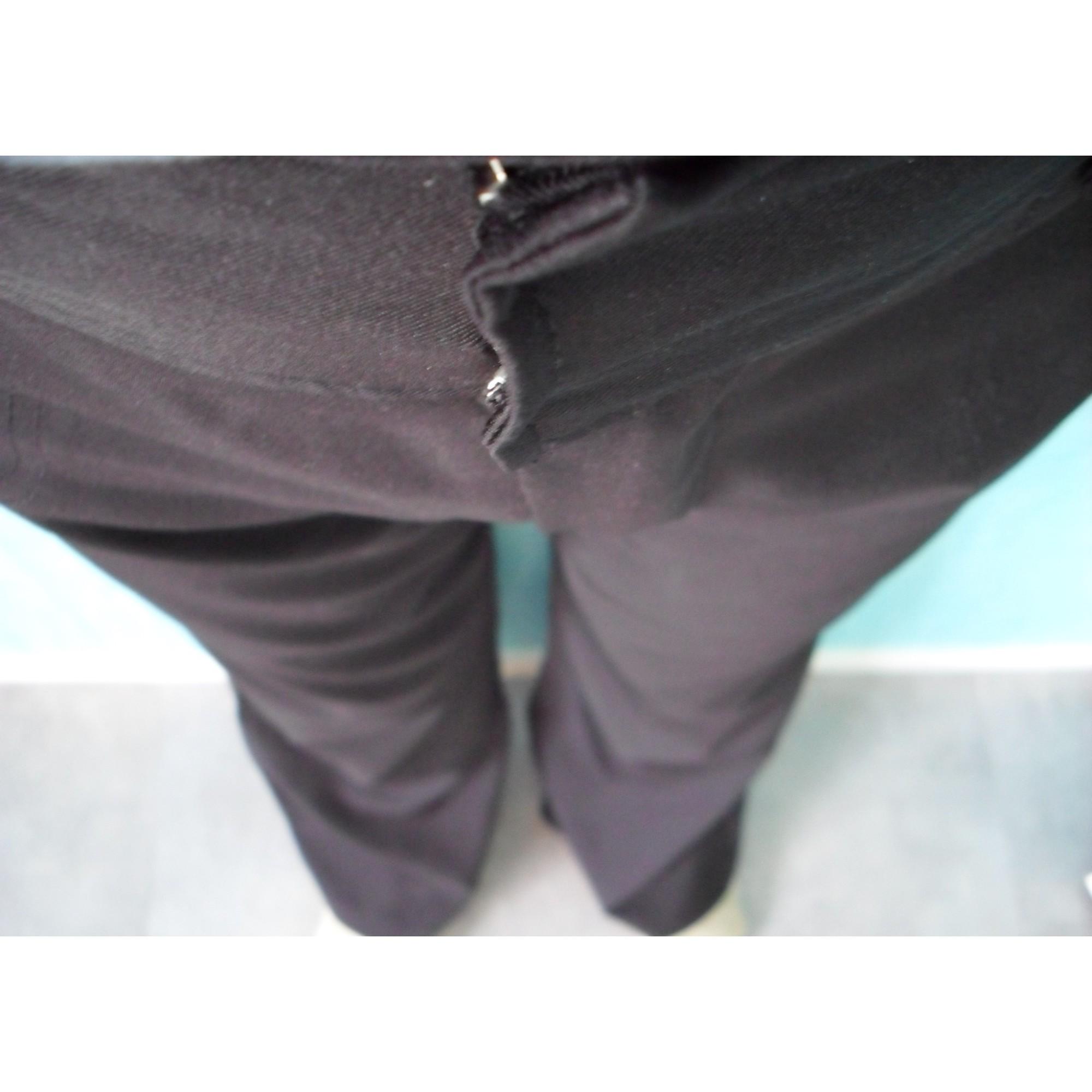 Pantalon droit ACTUELLE Noir