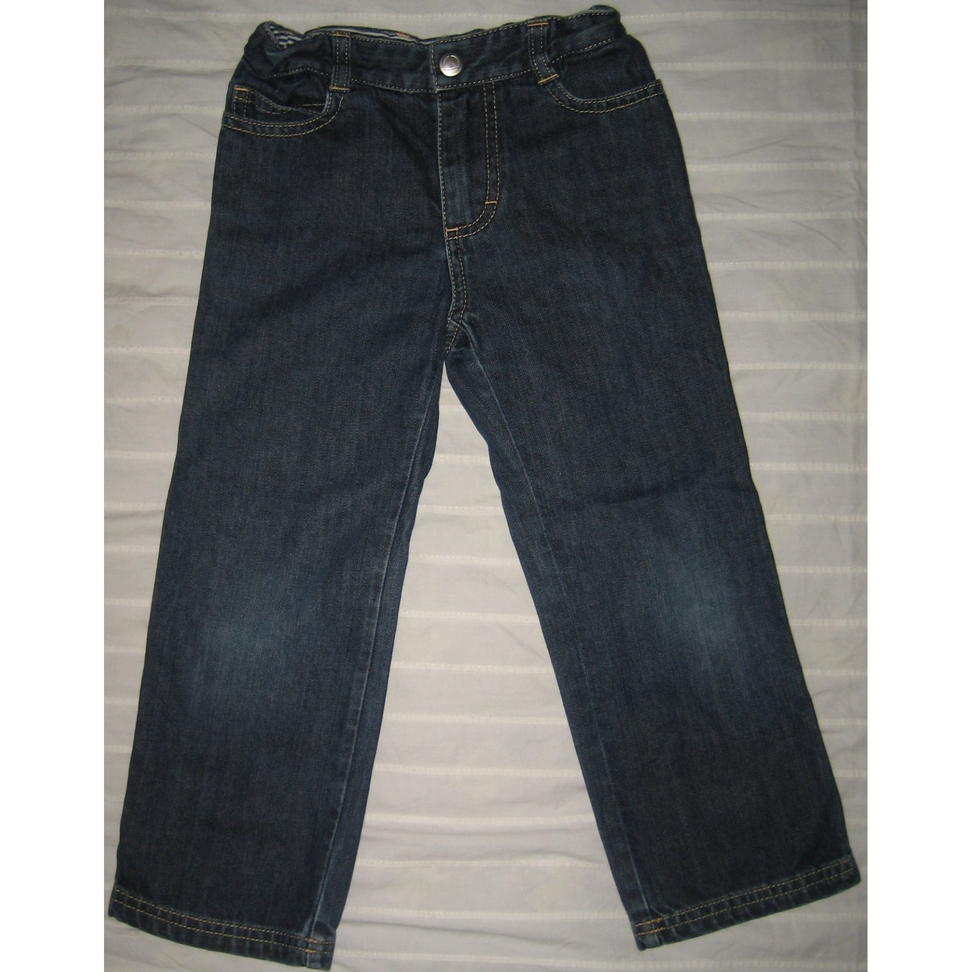 Jeans évasé, boot-cut PETIT BATEAU Bleu, bleu marine, bleu turquoise