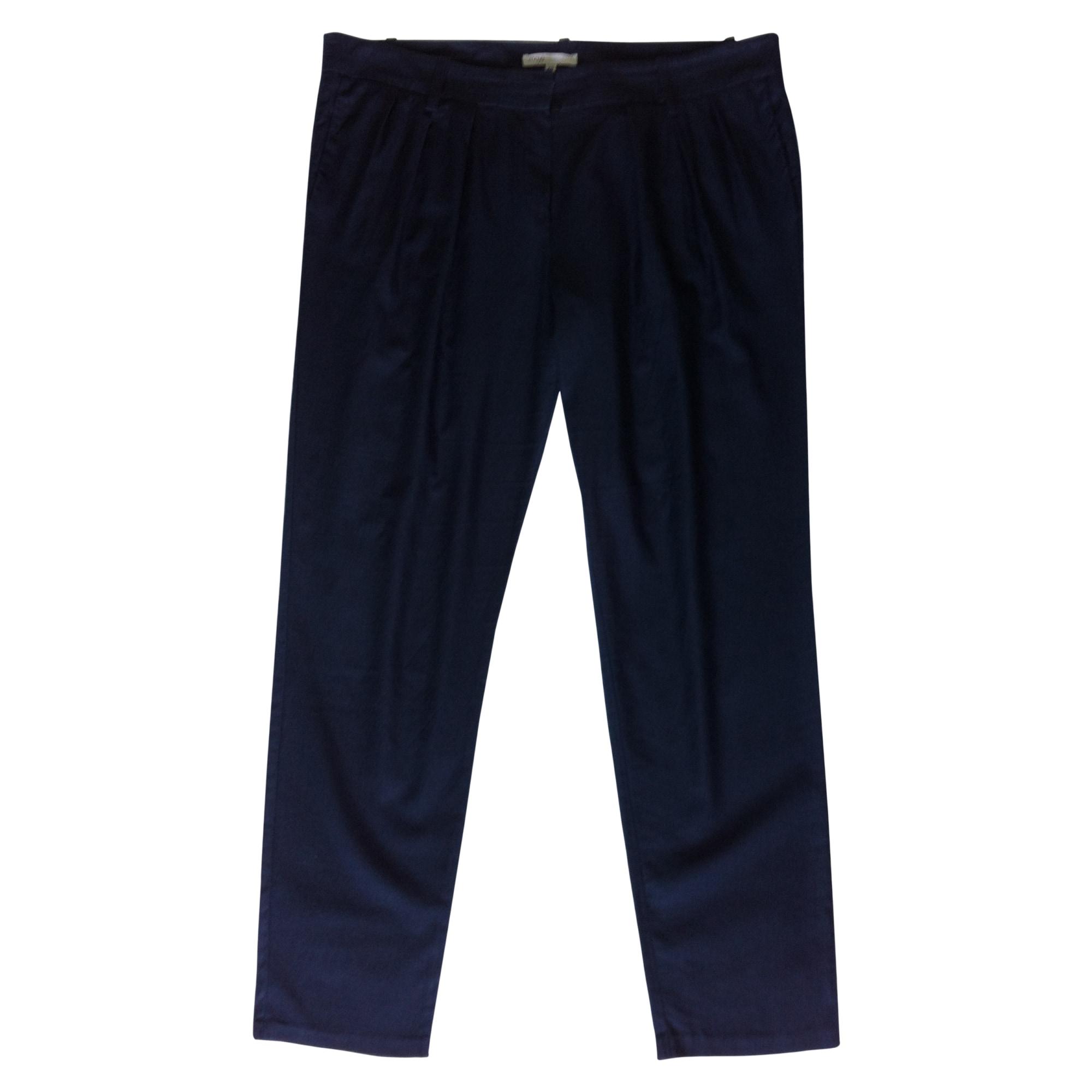 Pantalon carotte MAJE Bleu, bleu marine, bleu turquoise