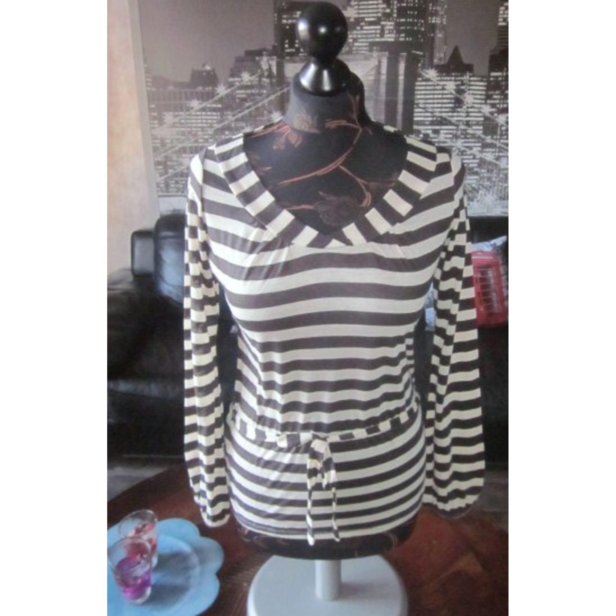 Top, tee-shirt PROMOD Marron