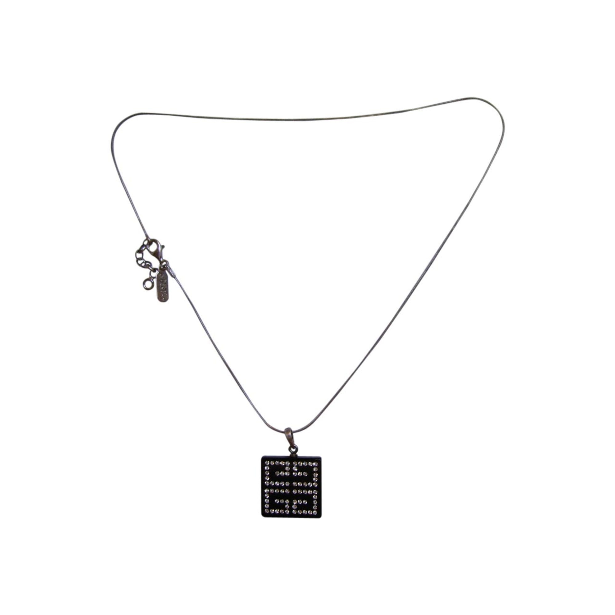 Pendentif, collier pendentif GIVENCHY Noir