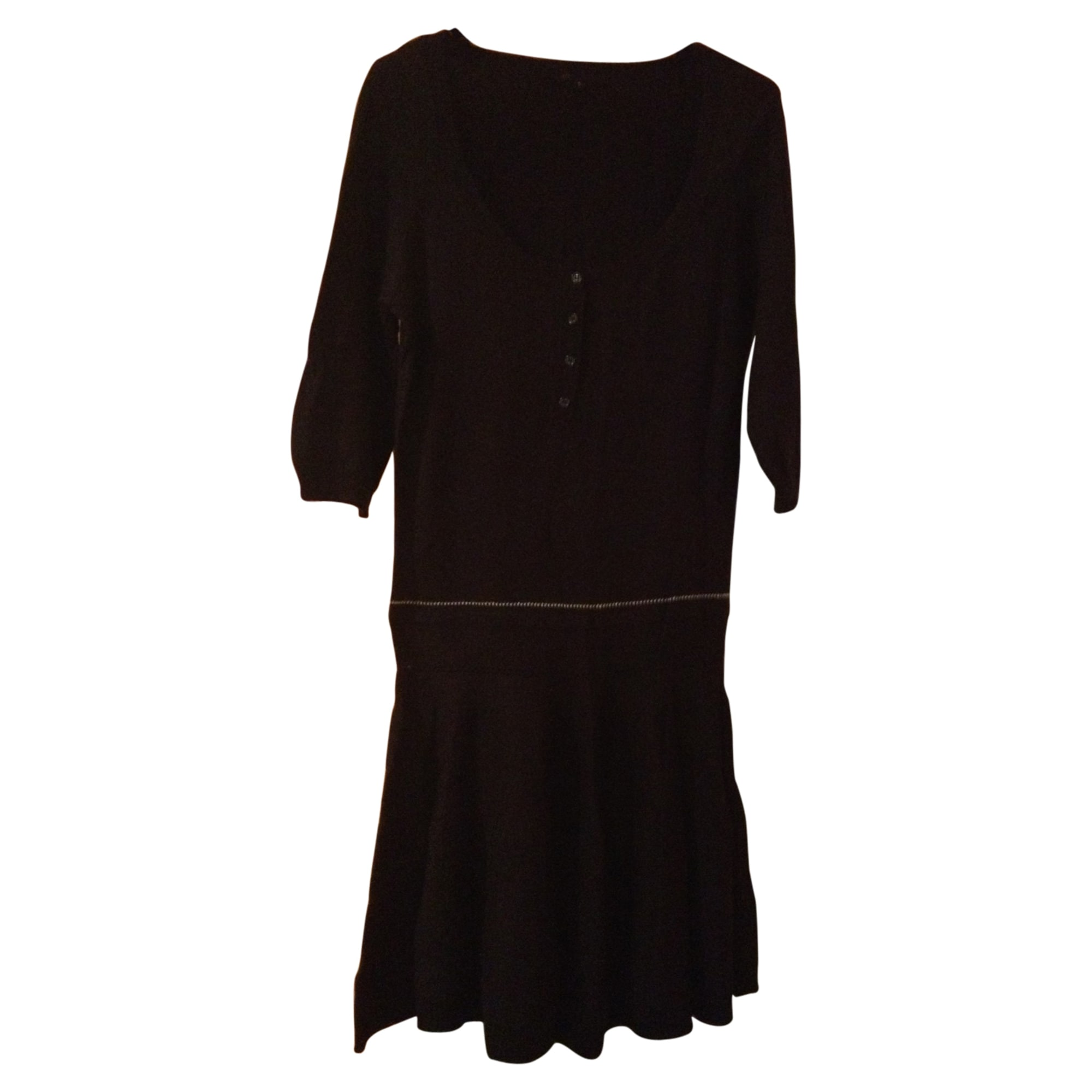 Robe pull MAJE Noir