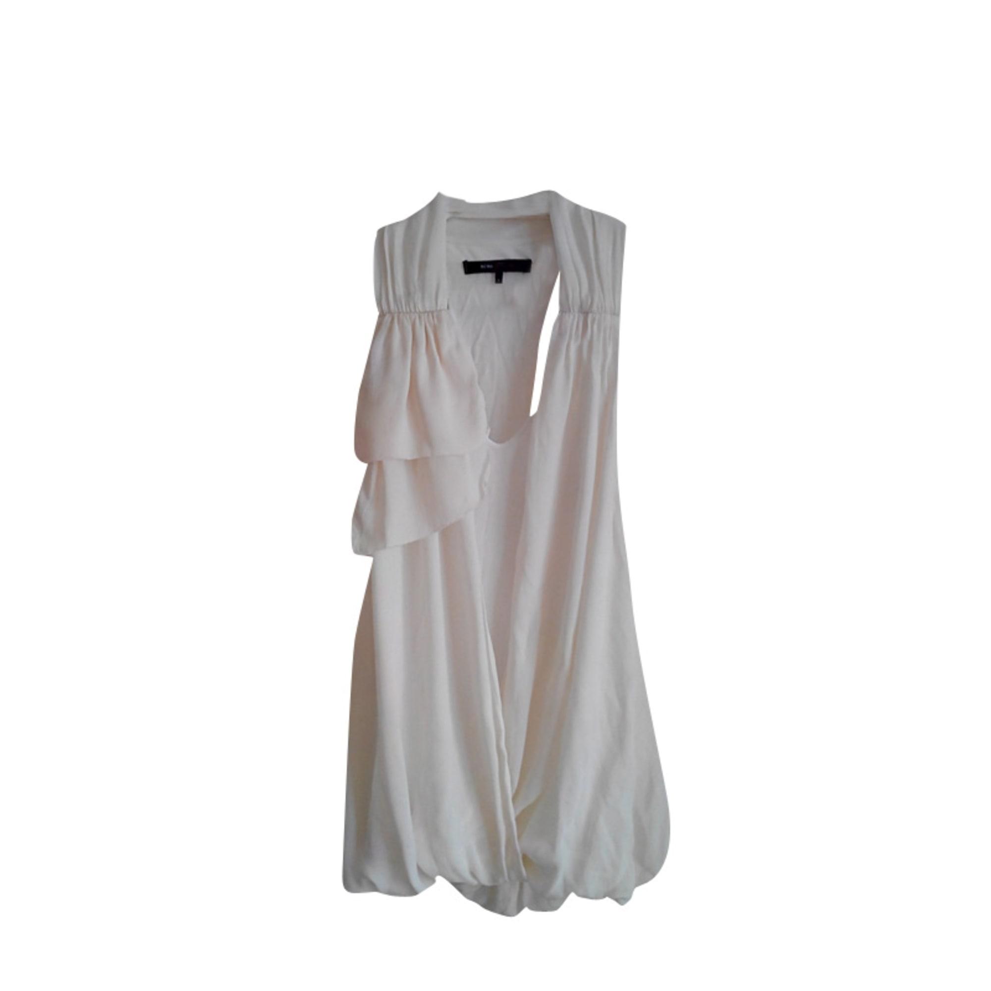 Top, tee-shirt BCBG MAX AZRIA Blanc, blanc cassé, écru