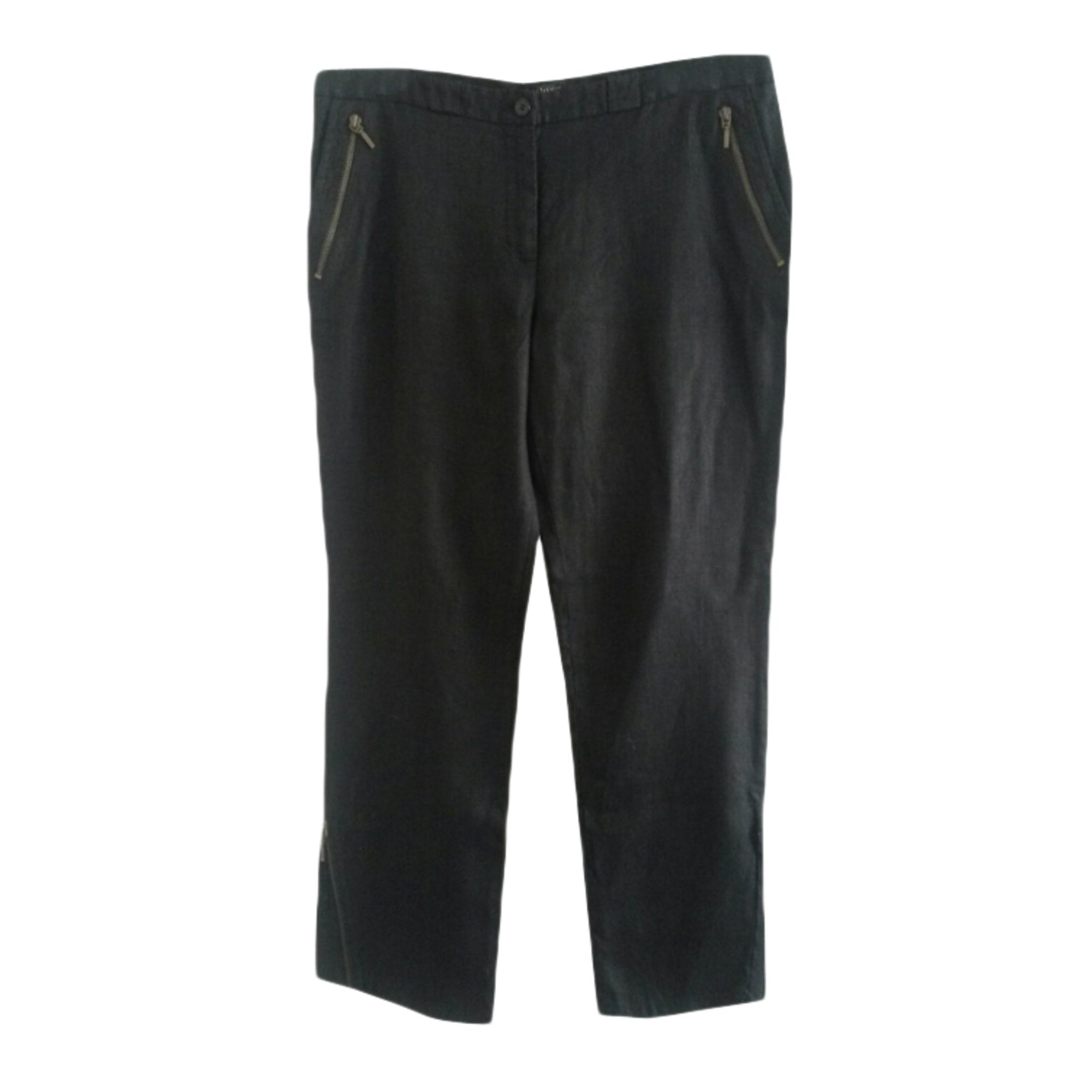 Pantalon droit TARA JARMON Noir