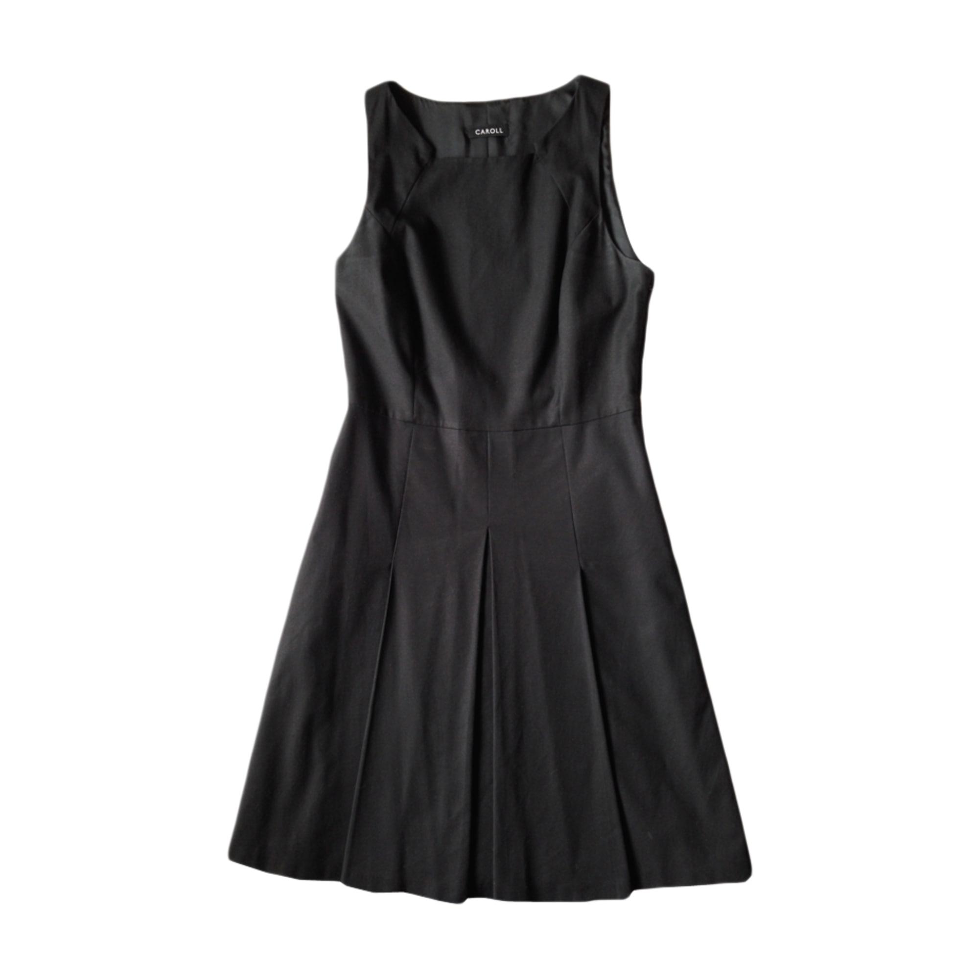 Robe Mi Longue Caroll 38 M T2 Noir 2673856