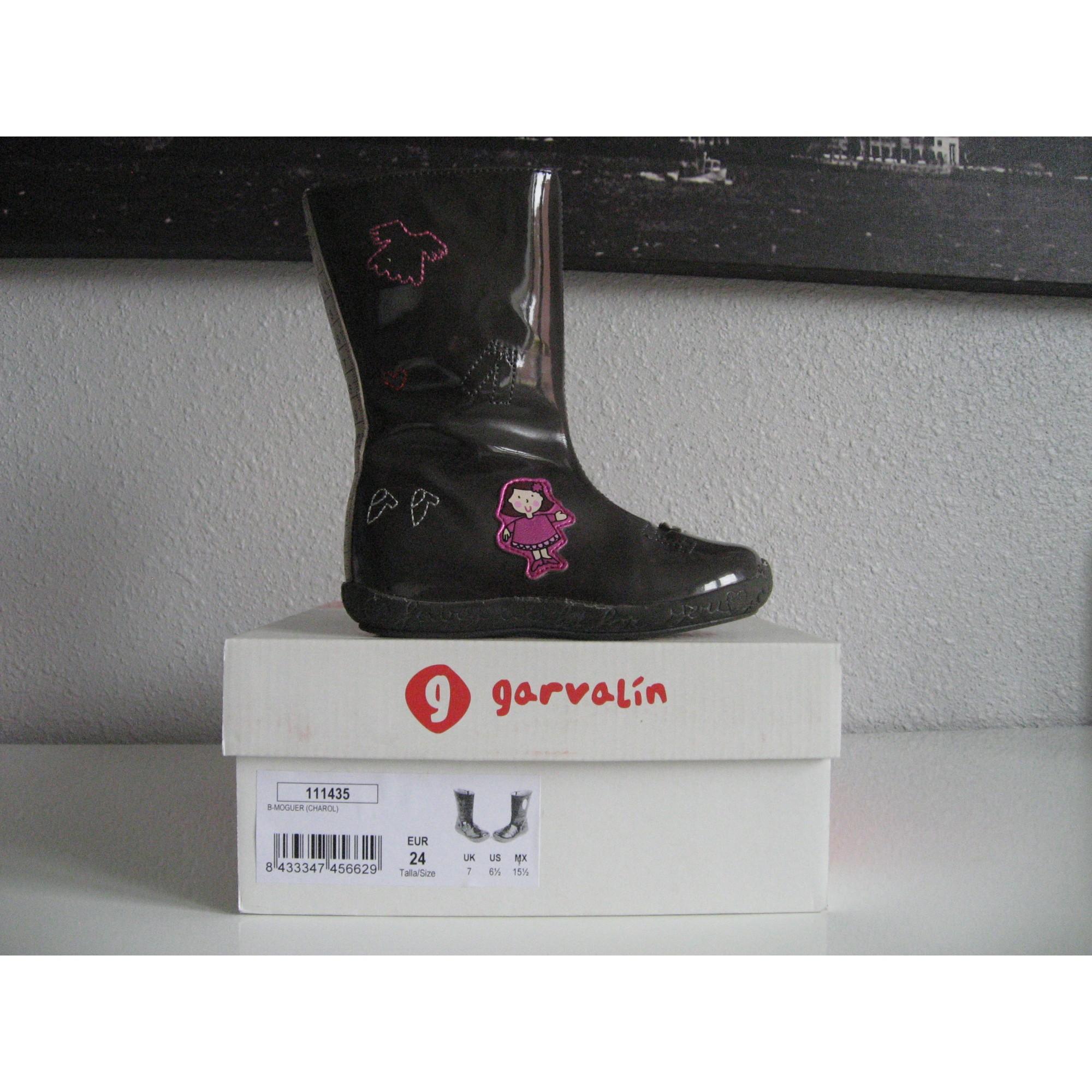 Boots GARVALIN Gray, charcoal