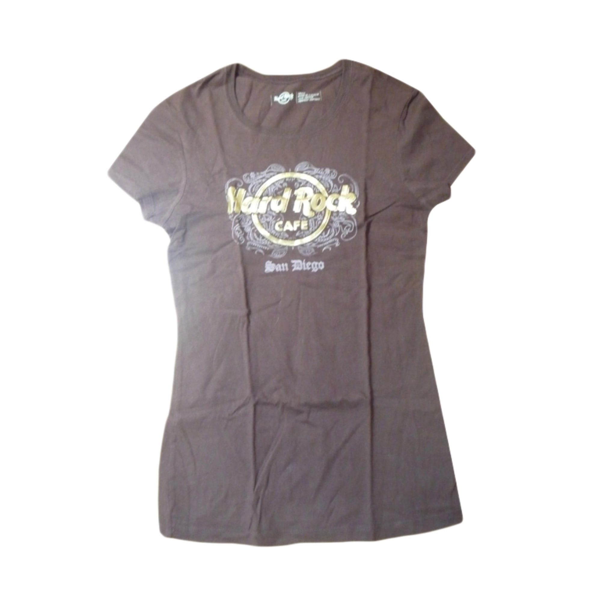Top, tee-shirt HARD ROCK Marron