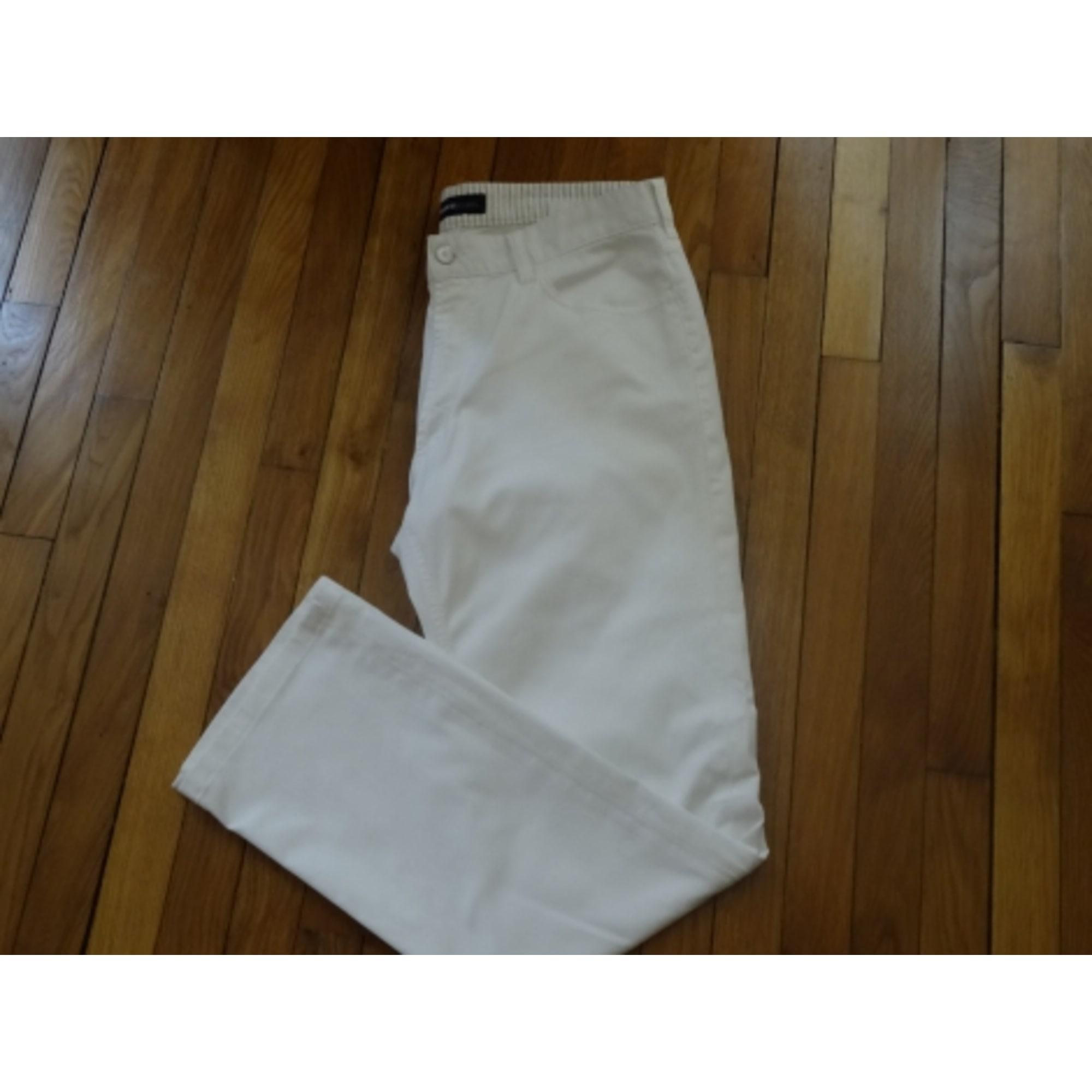 Jeans droit CERRUTI 1881 Blanc, blanc cassé, écru
