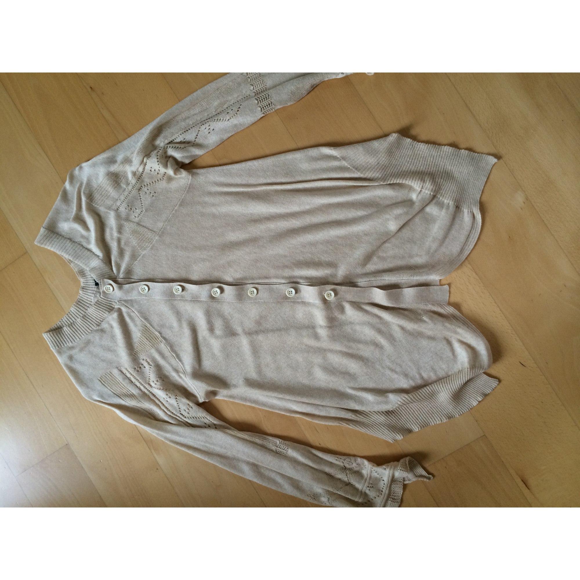Gilet, cardigan HIGH Doré, bronze, cuivre