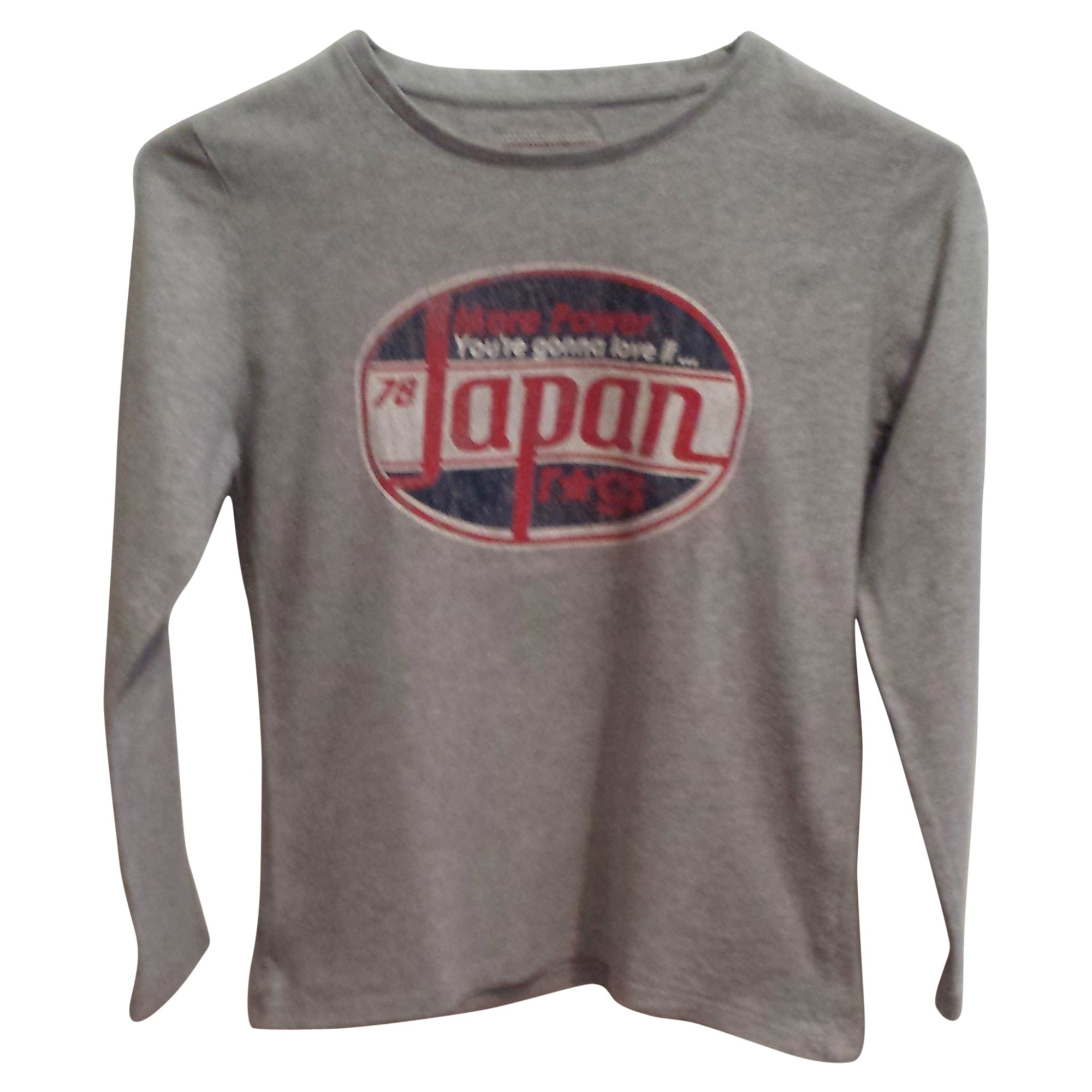 Tee-shirt JAPAN RAGS Gris, anthracite