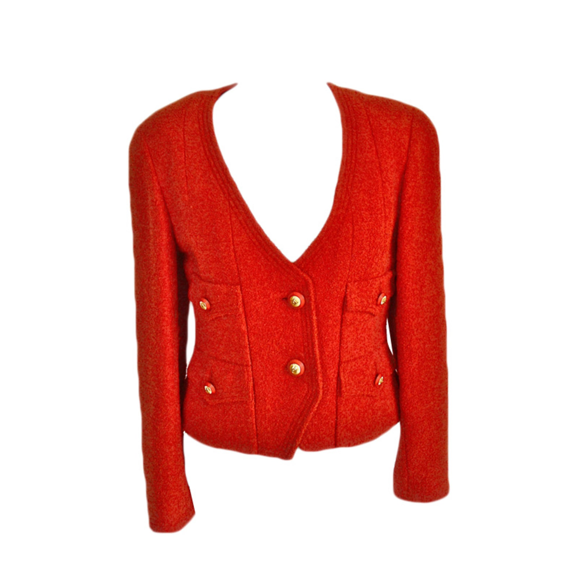 Blazer, veste tailleur CHANEL Orange