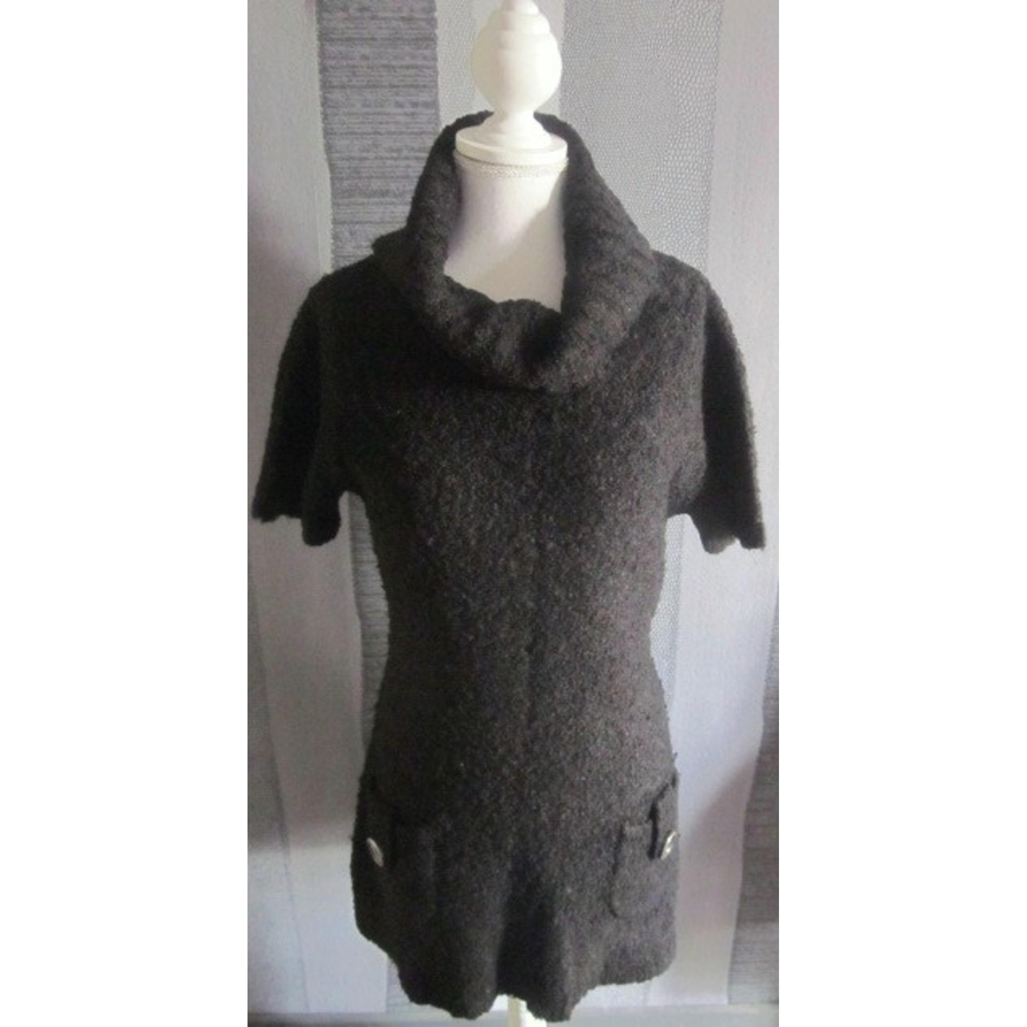 Pull tunique BRÉAL Noir