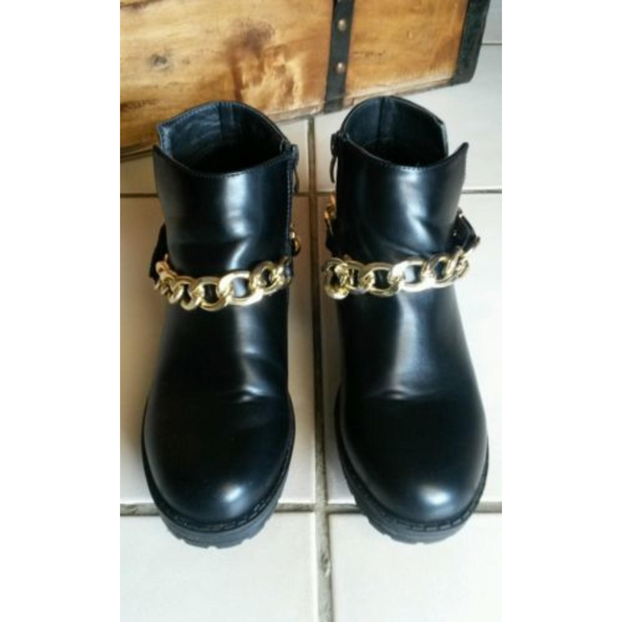 bottine noir coco perla