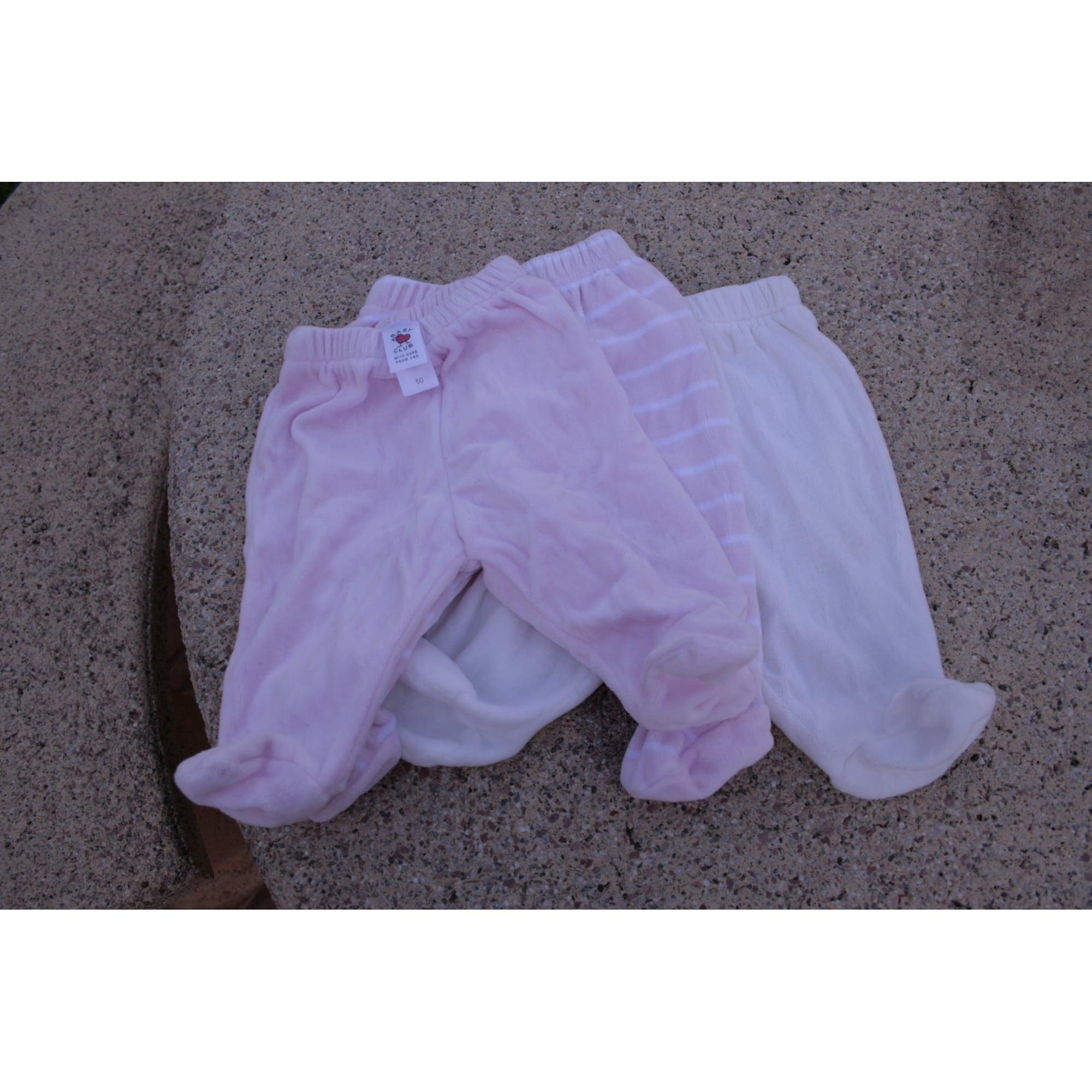 Pantalon BABY CLUB Rose, fuschia, vieux rose