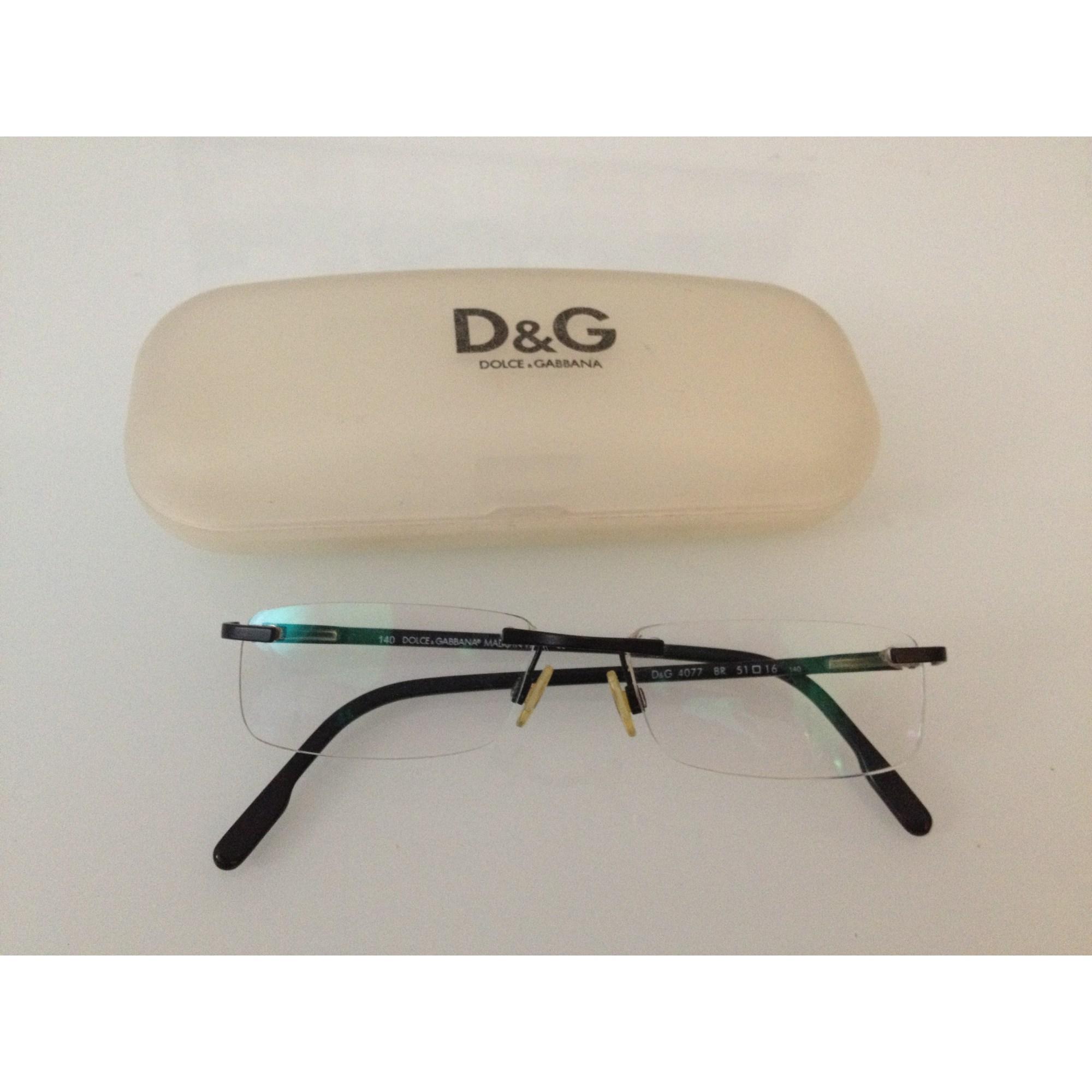 Monture de lunettes D&G Noir